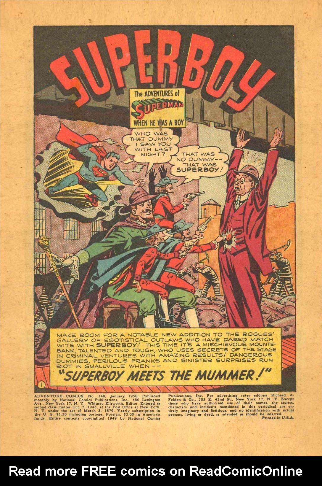 Read online Adventure Comics (1938) comic -  Issue #148 - 3