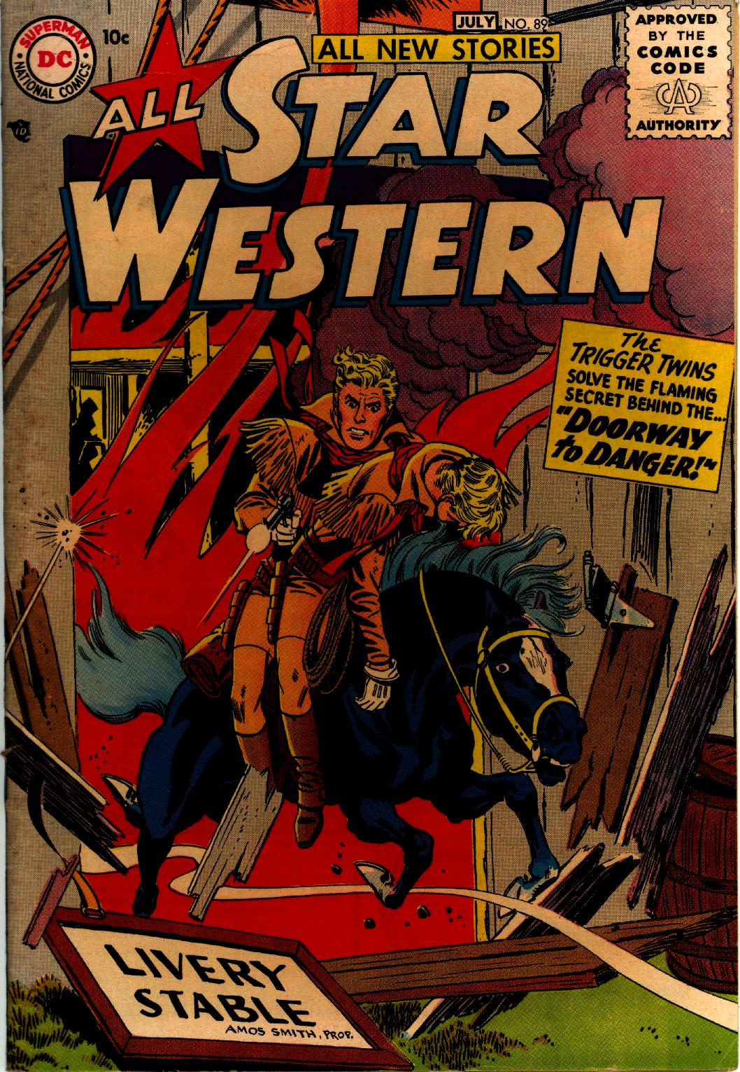 Read online All-Star Western (1951) comic -  Issue #89 - 1