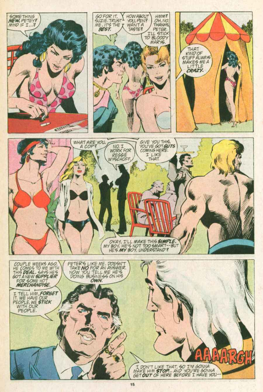 Read online Justice (1986) comic -  Issue #13 - 16