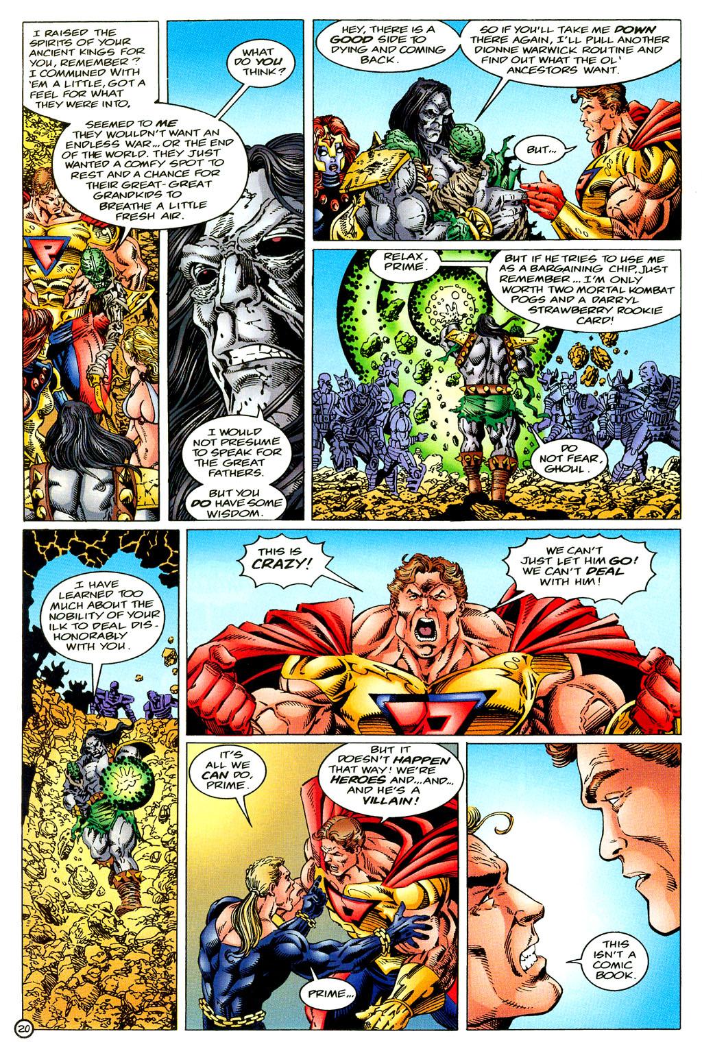 Read online UltraForce (1994) comic -  Issue #6 - 20
