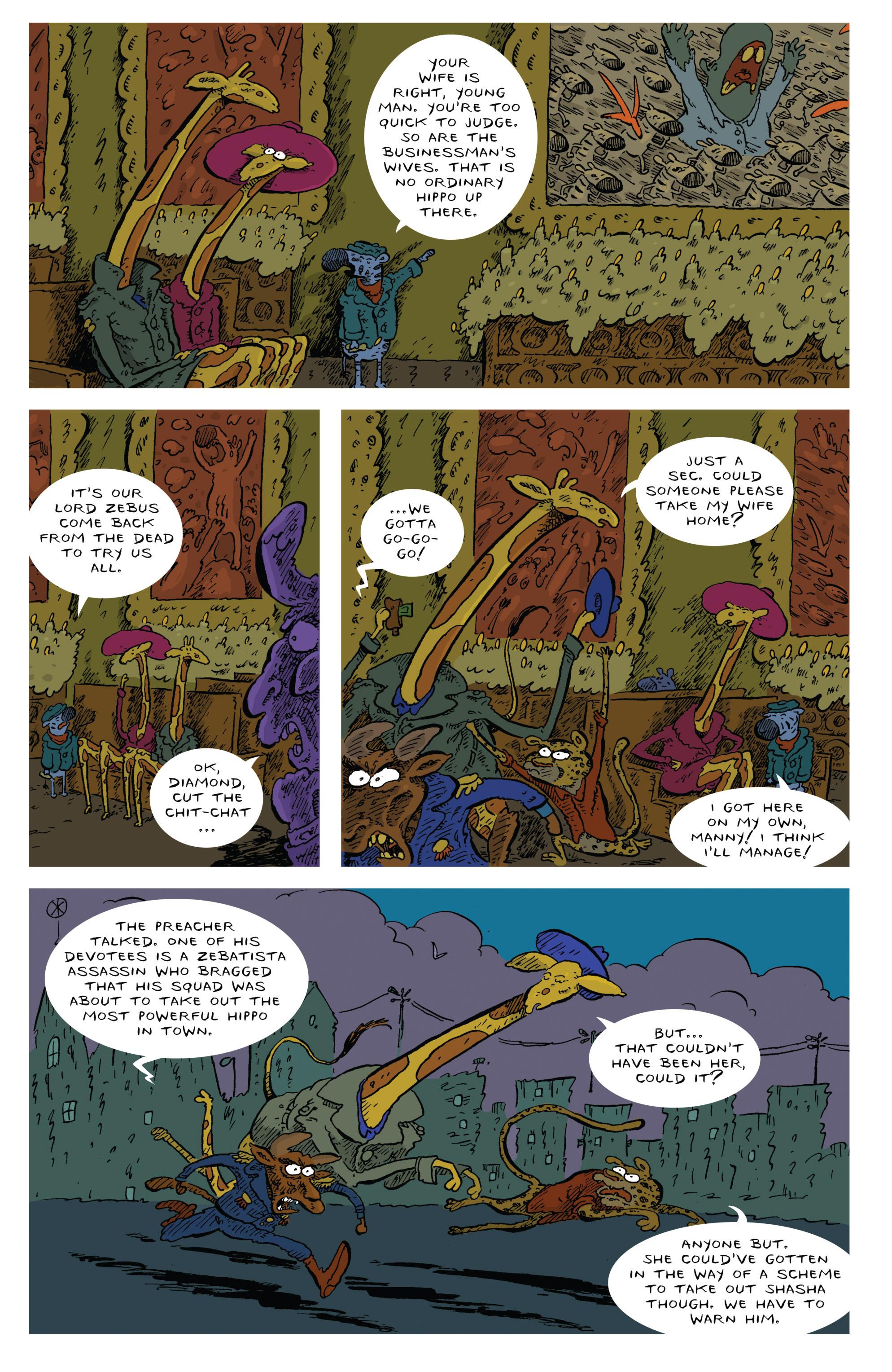 Read online Animal Noir comic -  Issue #4 - 14