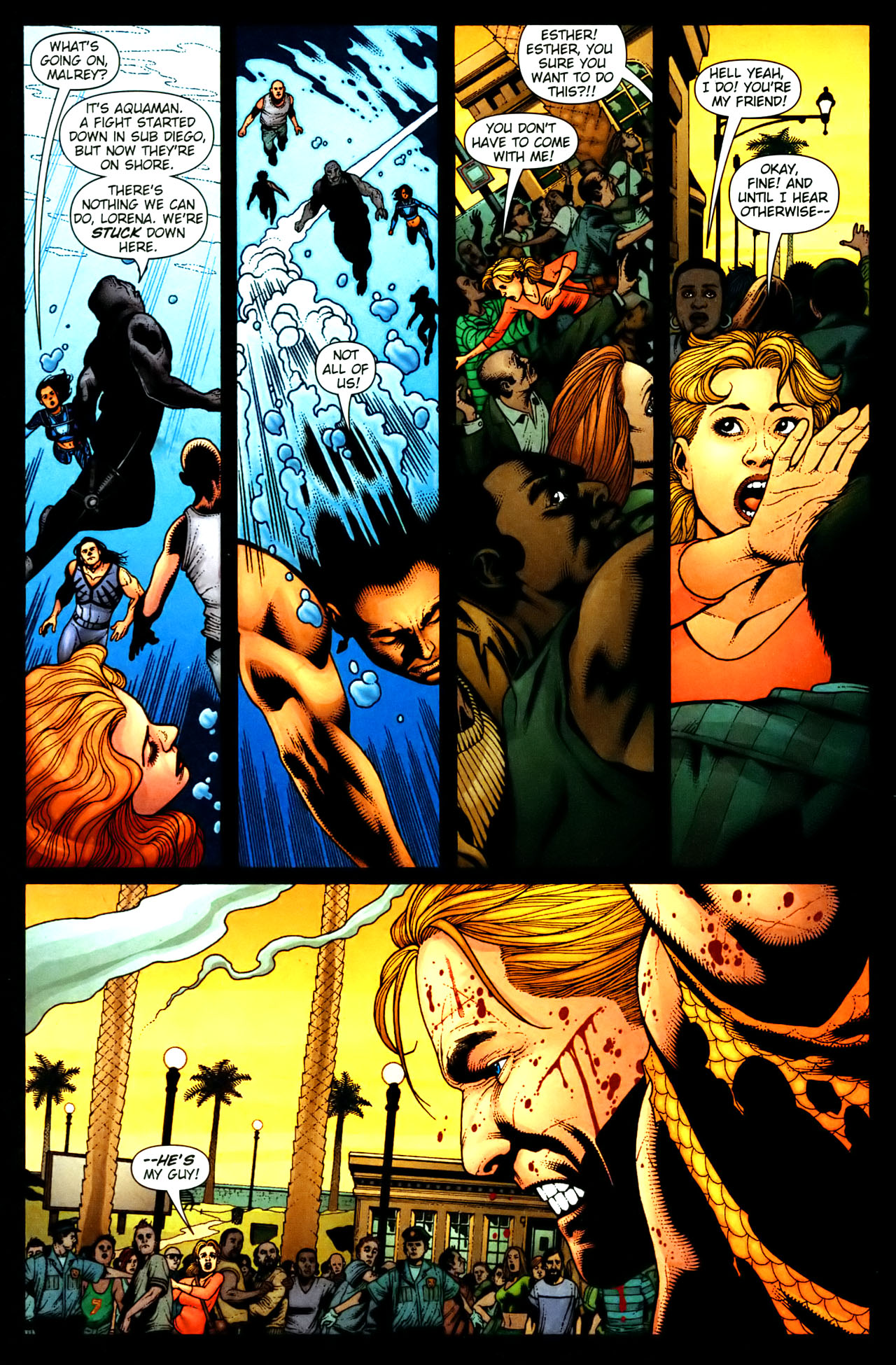Read online Aquaman (2003) comic -  Issue #35 - 15