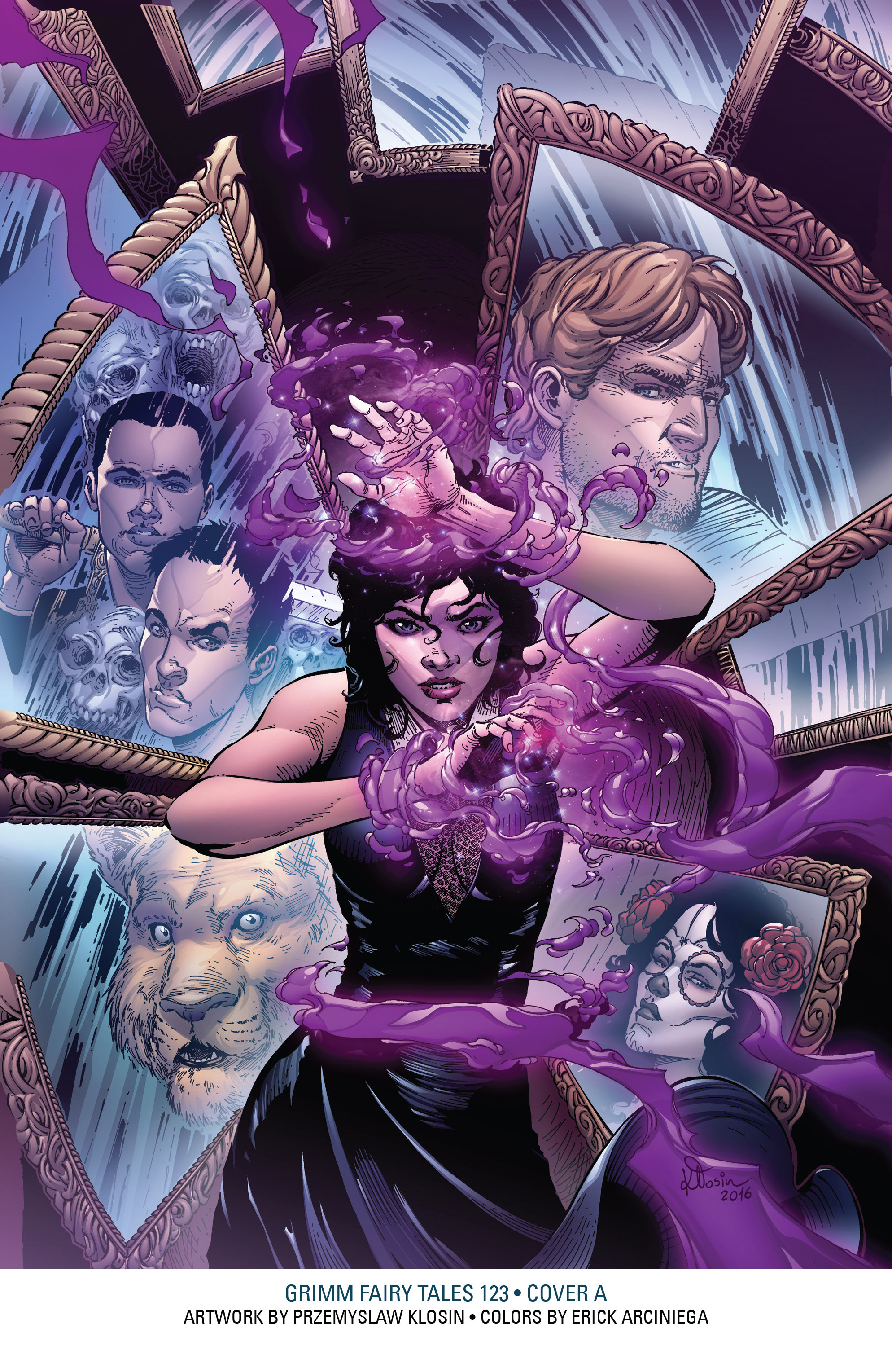 Read online Grimm Fairy Tales: Arcane Acre comic -  Issue # TPB 4 - 212