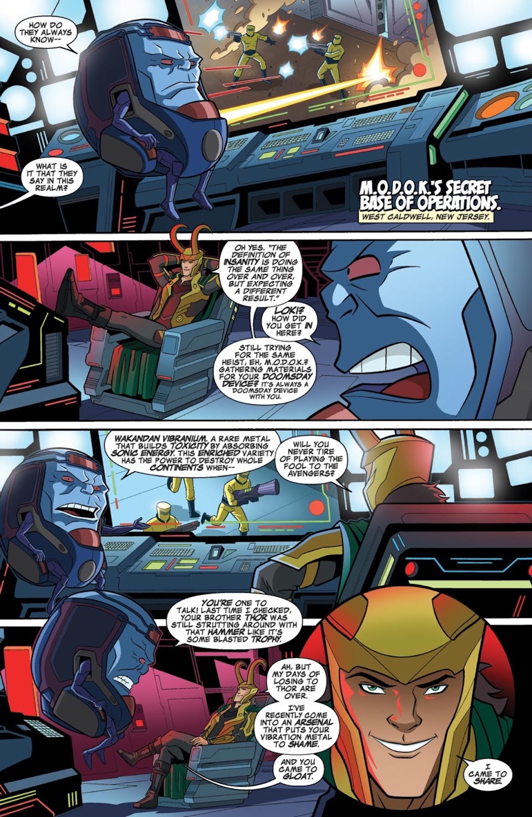 Read online Marvel Universe Avengers Assemble Season 2 comic -  Issue #1 - 25