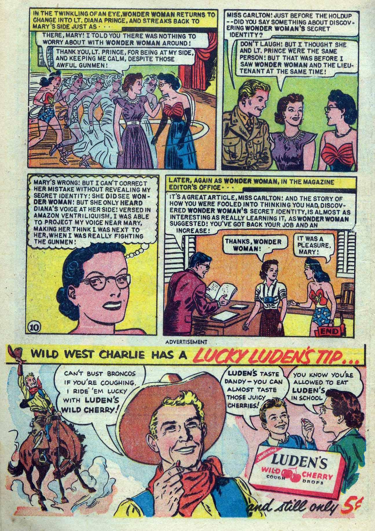 Read online Wonder Woman (1942) comic -  Issue #53 - 24