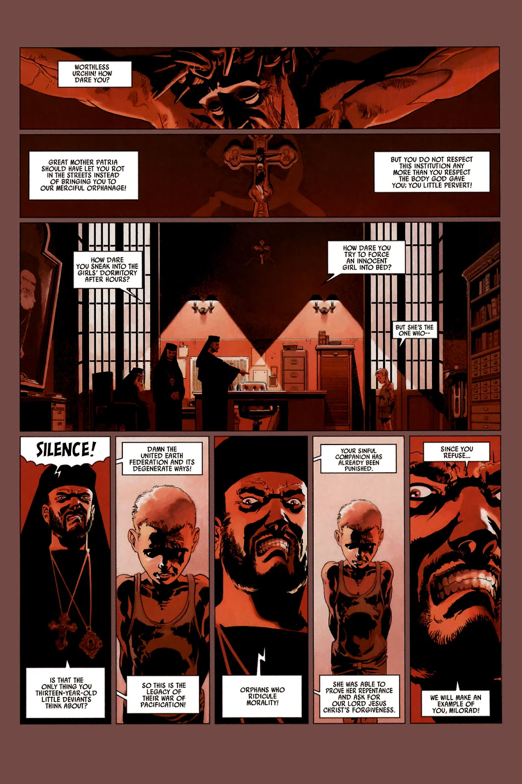 Read online Universal War One: Revelations comic -  Issue #2 - 5