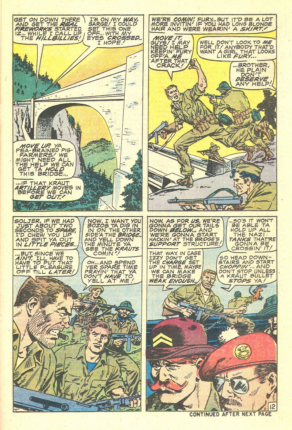 Read online Sgt. Fury comic -  Issue #71 - 21