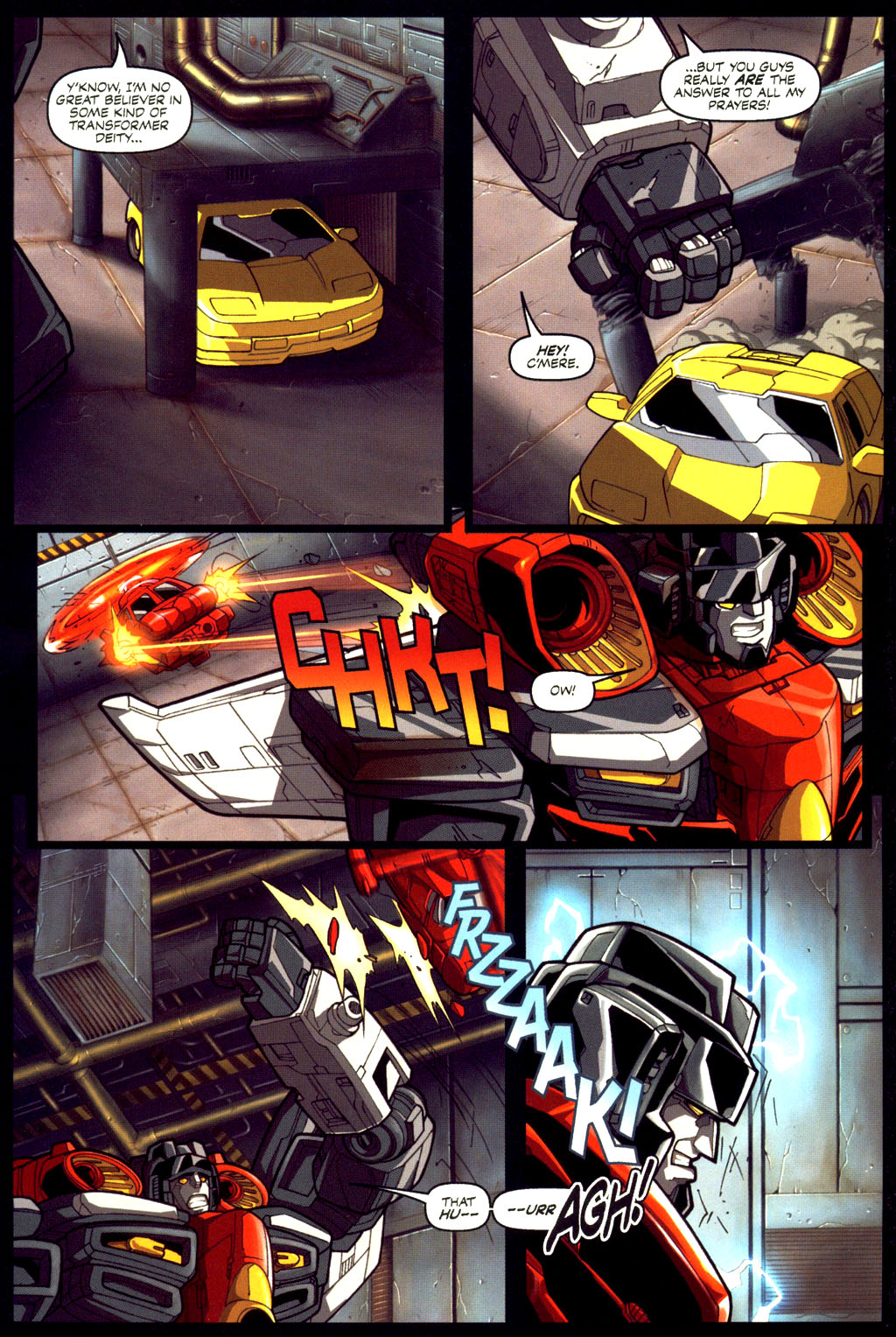 Read online Transformers Armada comic -  Issue #6 - 20