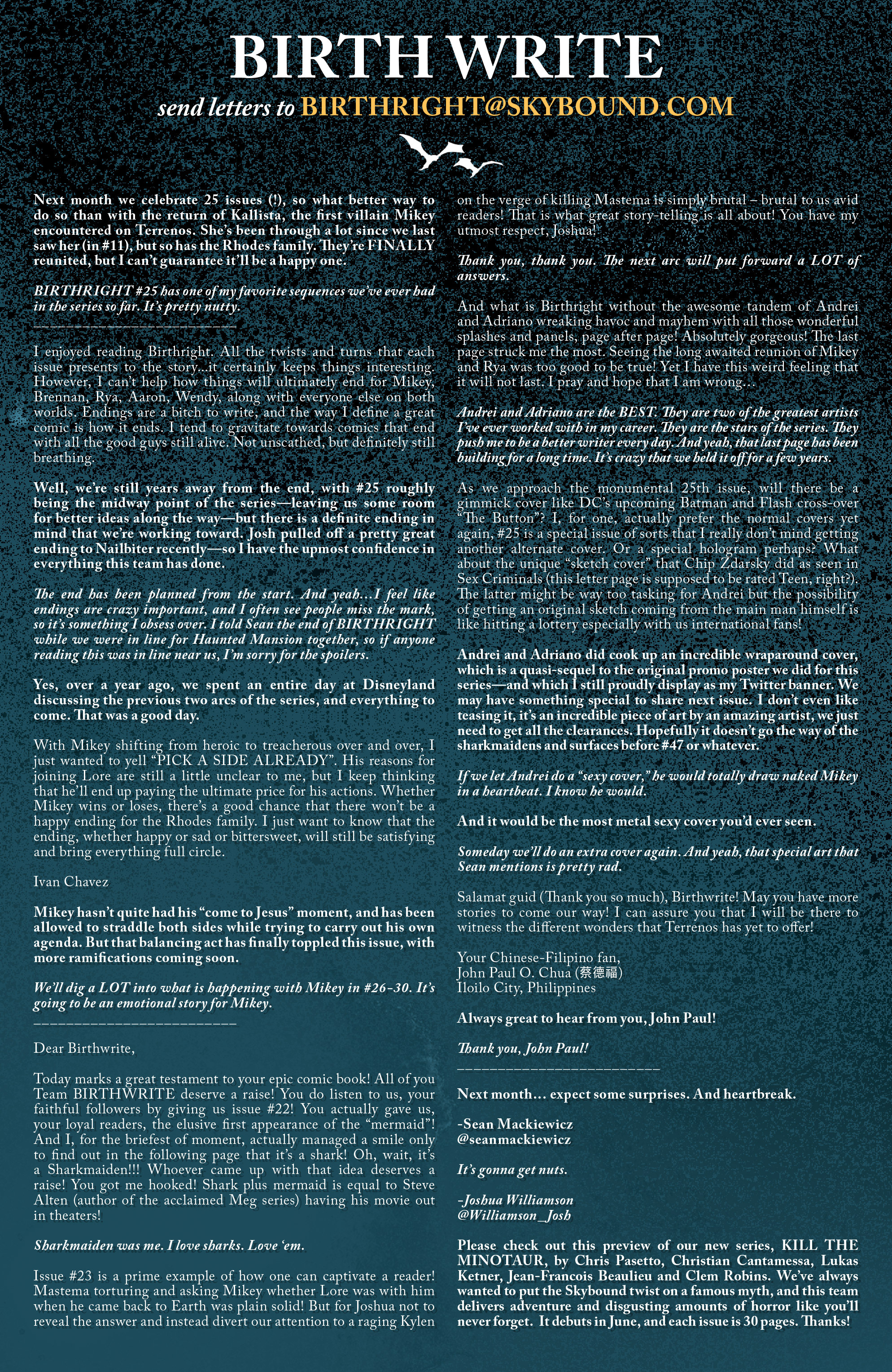 Read online Birthright (2014) comic -  Issue #24 - 22