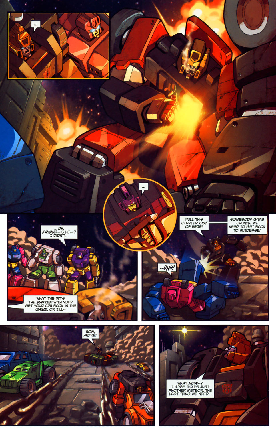 Read online Transformers: Micromasters comic -  Issue #1 - 7