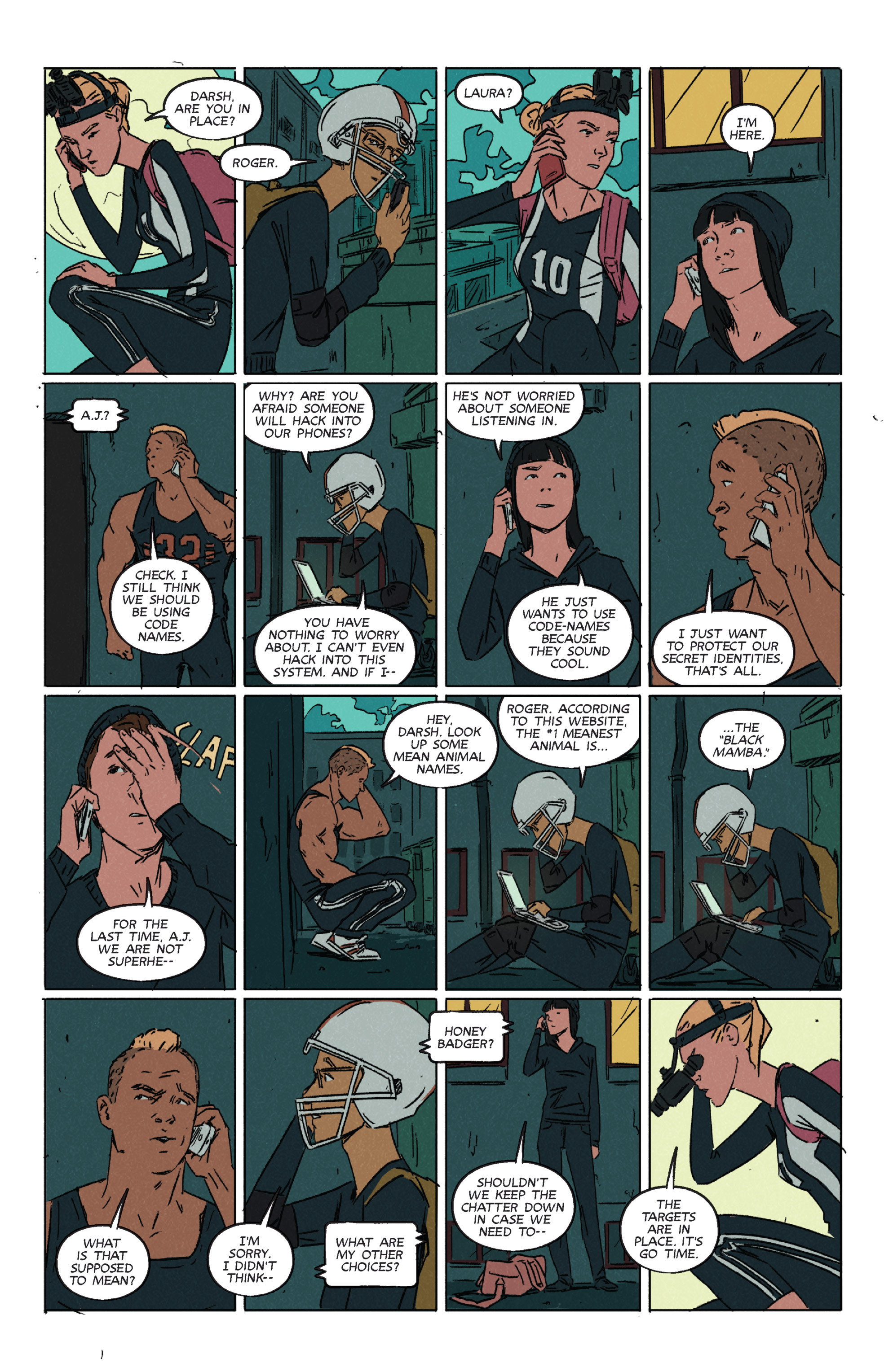 Read online Night Owl Society comic -  Issue #2 - 5