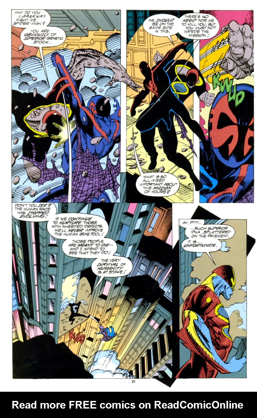 Read online 2099 Unlimited comic -  Issue #1 - 19