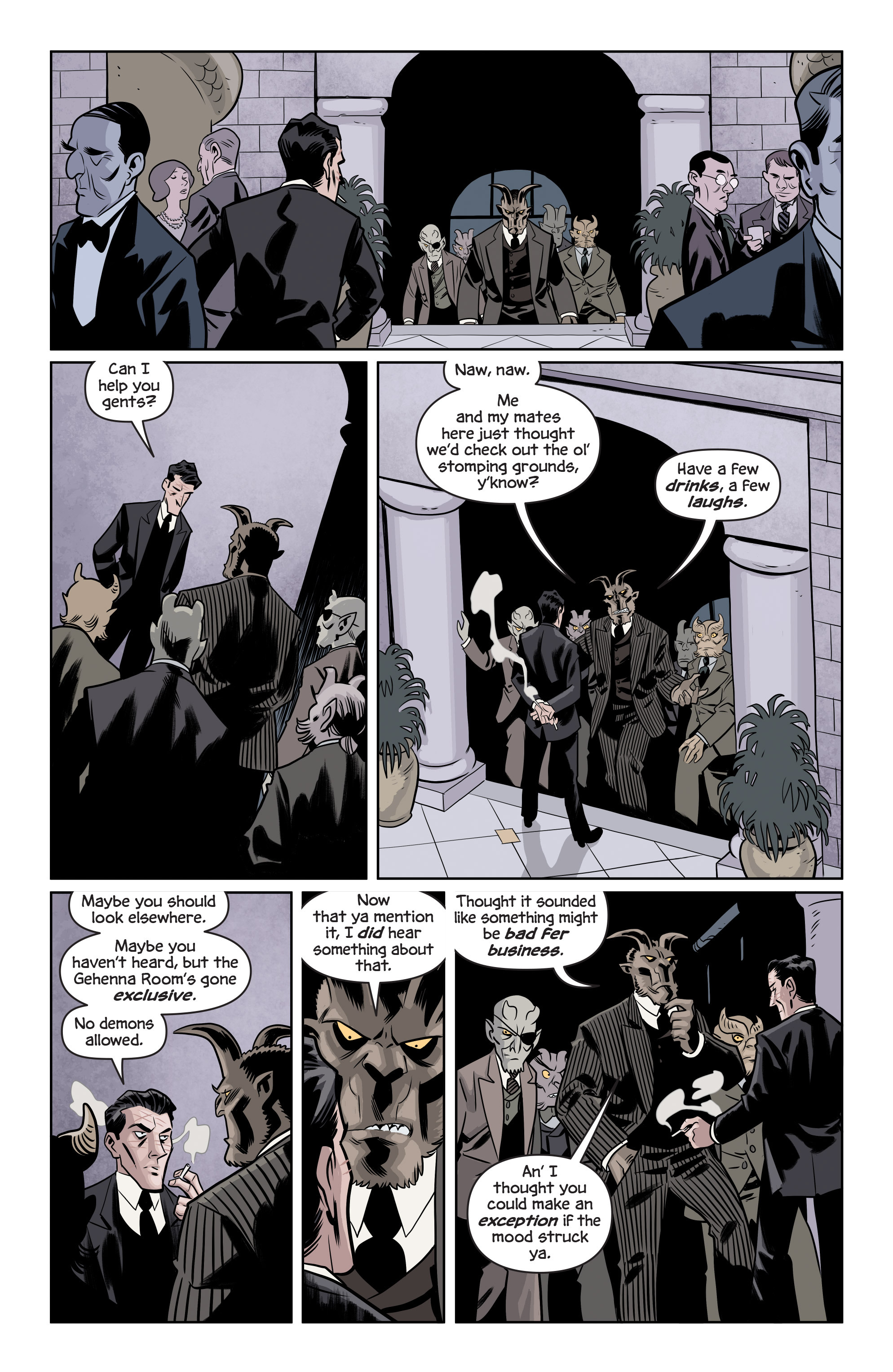 Read online The Damned comic -  Issue #1 - 7