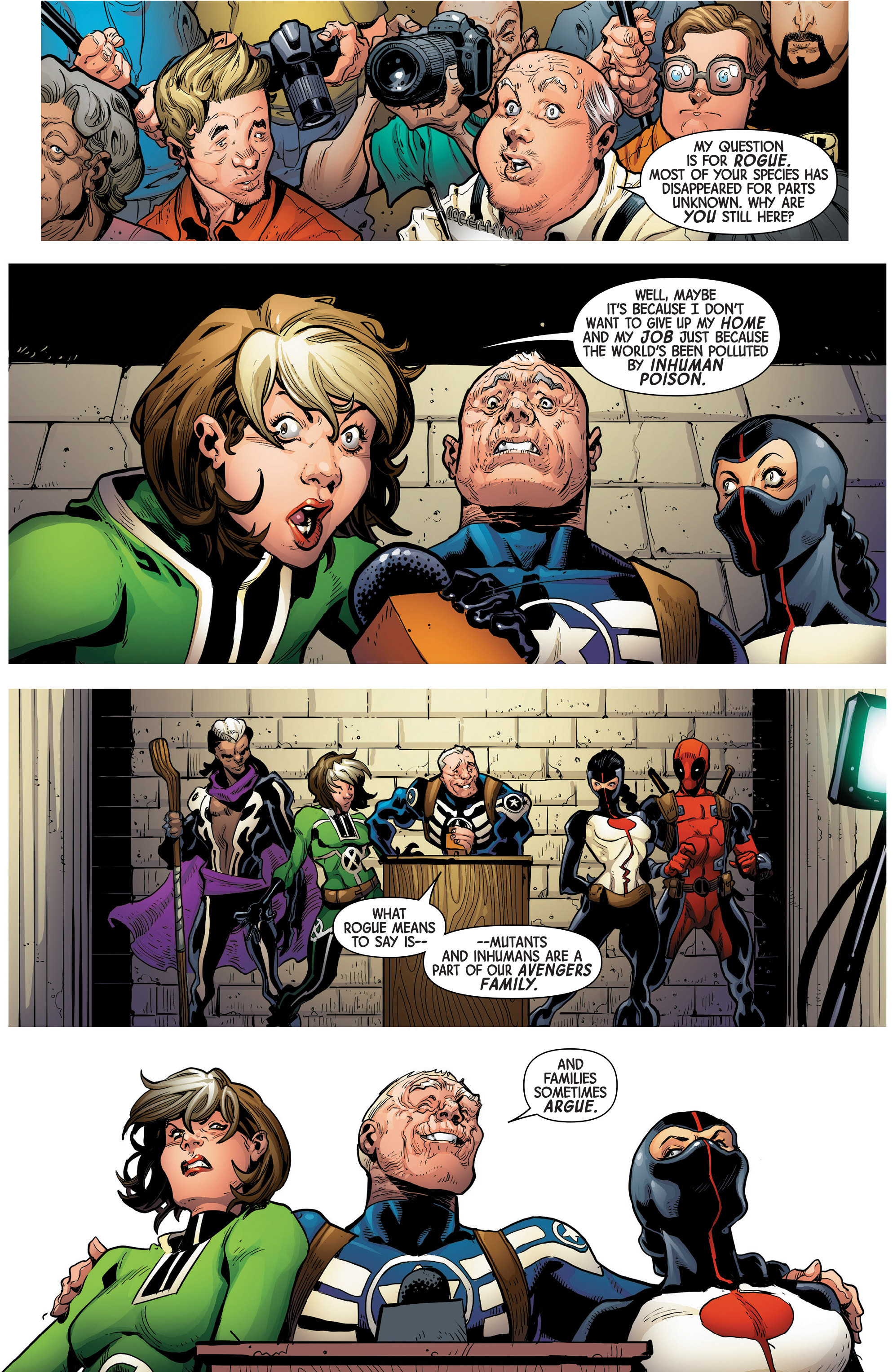 Read online Uncanny Avengers [II] comic -  Issue #1 - 16