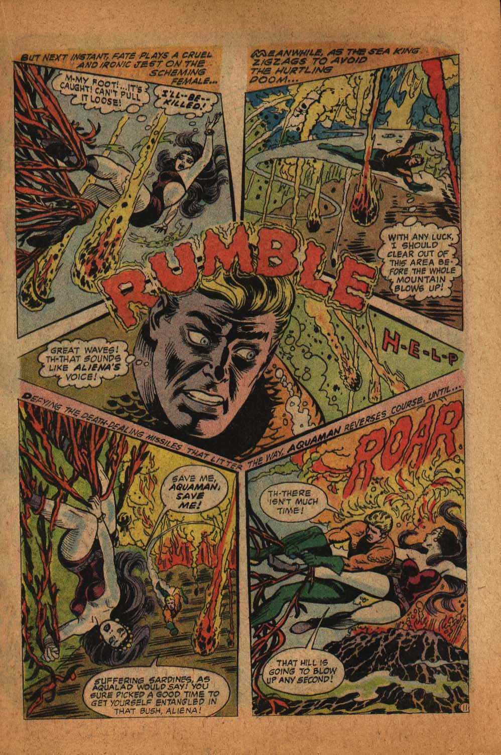 Read online Aquaman (1962) comic -  Issue #39 - 17