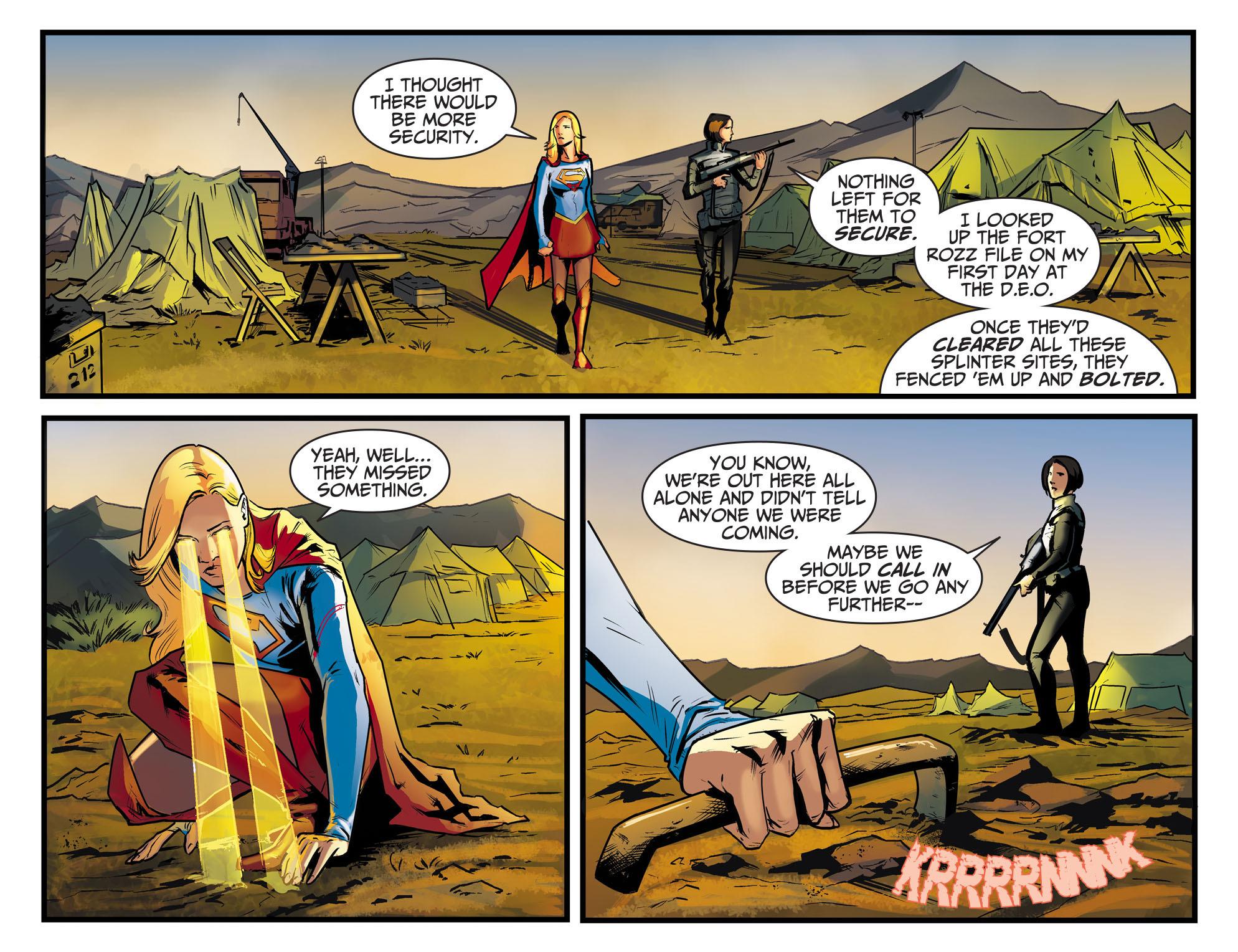 Read online Adventures of Supergirl comic -  Issue #8 - 14