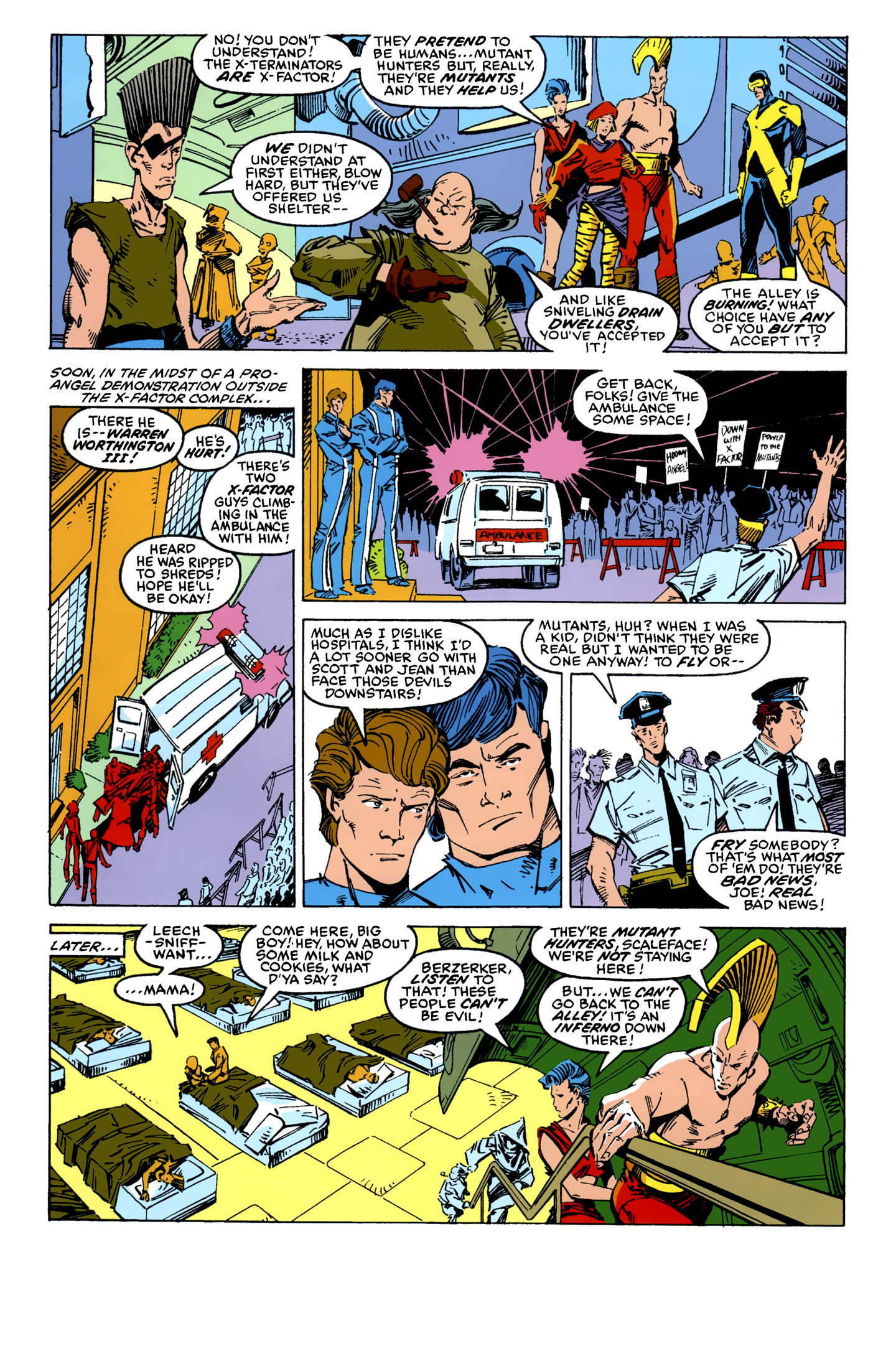 Read online X-Factor (1986) comic -  Issue #11 - 12