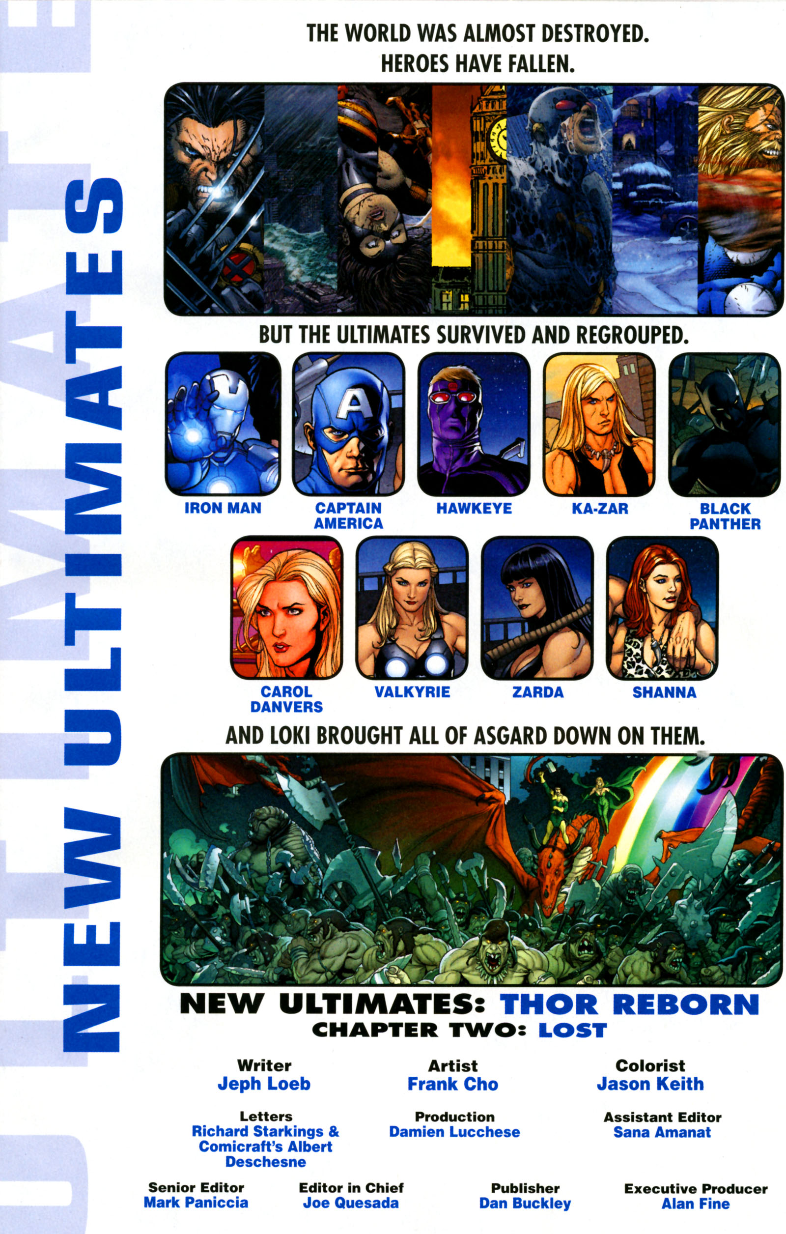 Read online Ultimate New Ultimates comic -  Issue #2 - 2