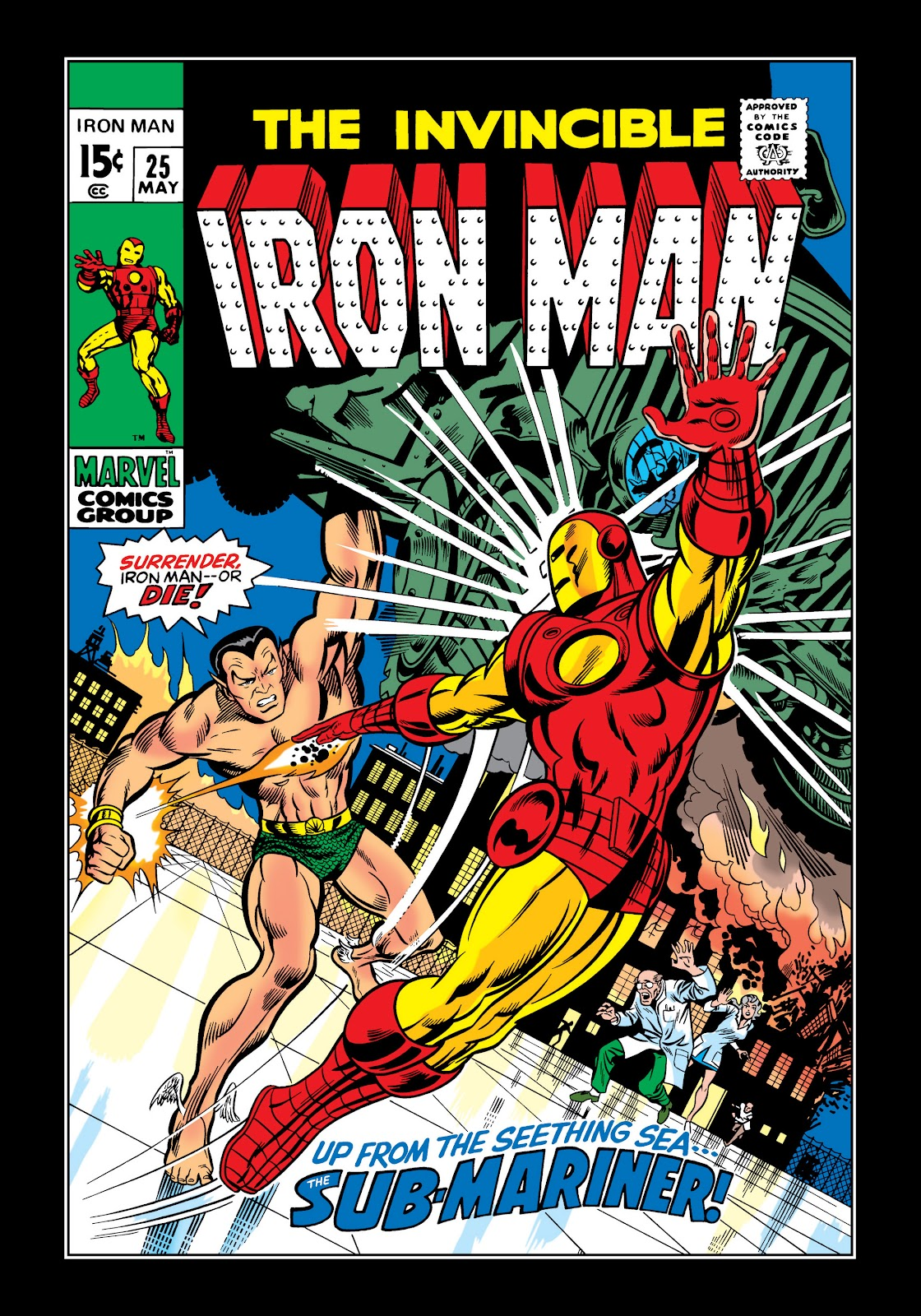 Read online Marvel Masterworks: The Invincible Iron Man comic -  Issue # TPB 6 (Part 3) - 16