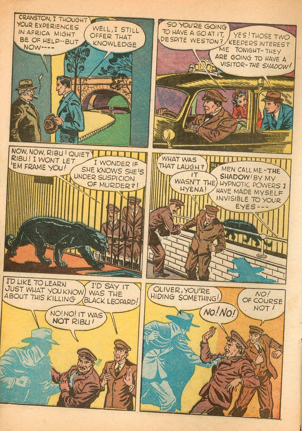 Read online Shadow Comics comic -  Issue #11 - 6