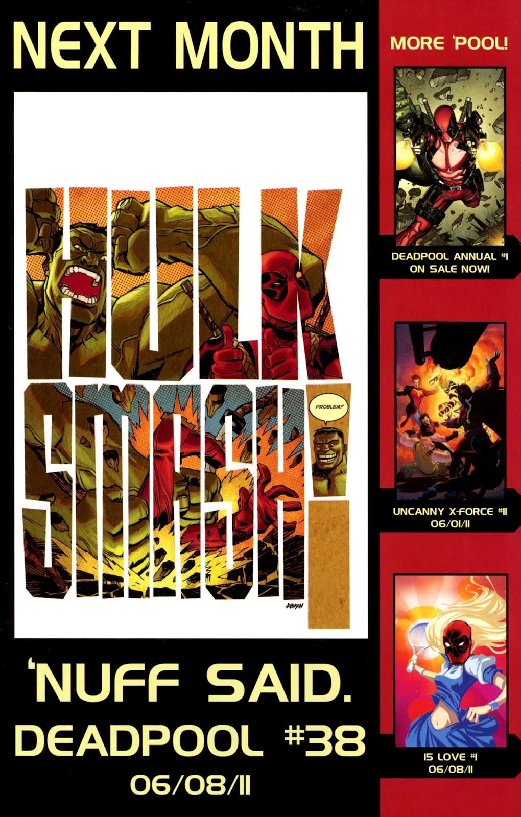 Read online Deadpool (2008) comic -  Issue #37 - 22