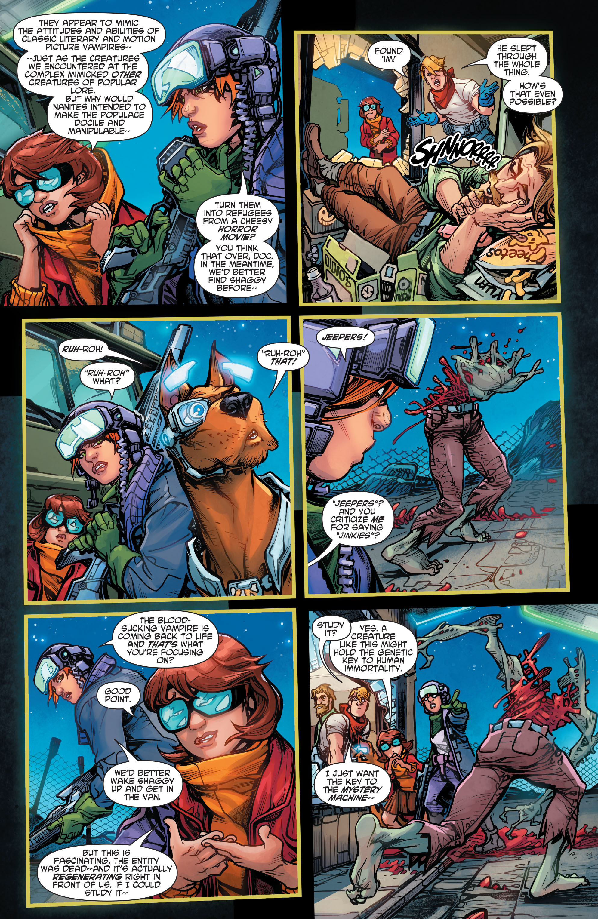 Read online Scooby Apocalypse comic -  Issue #4 - 13