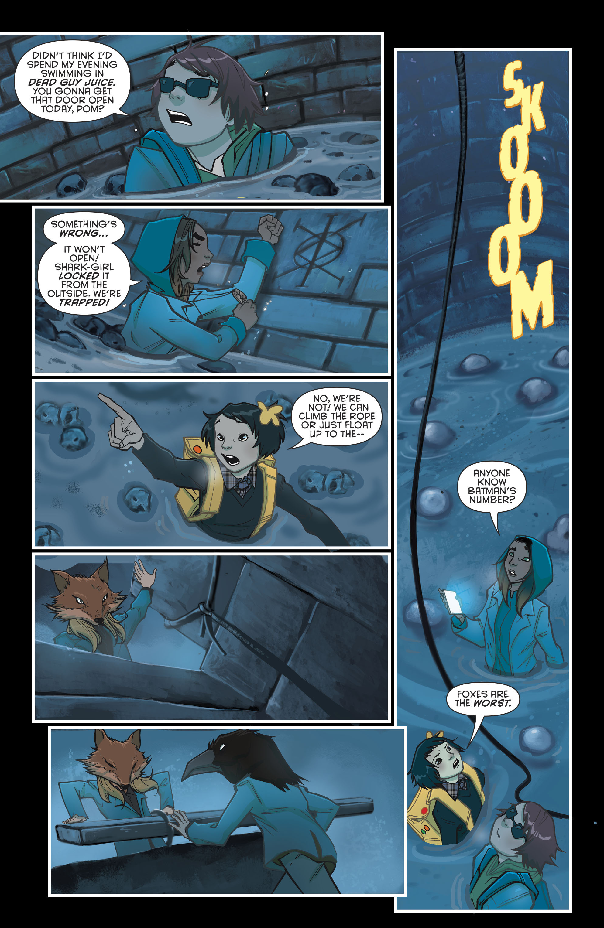 Read online Gotham Academy: Second Semester comic -  Issue #9 - 12