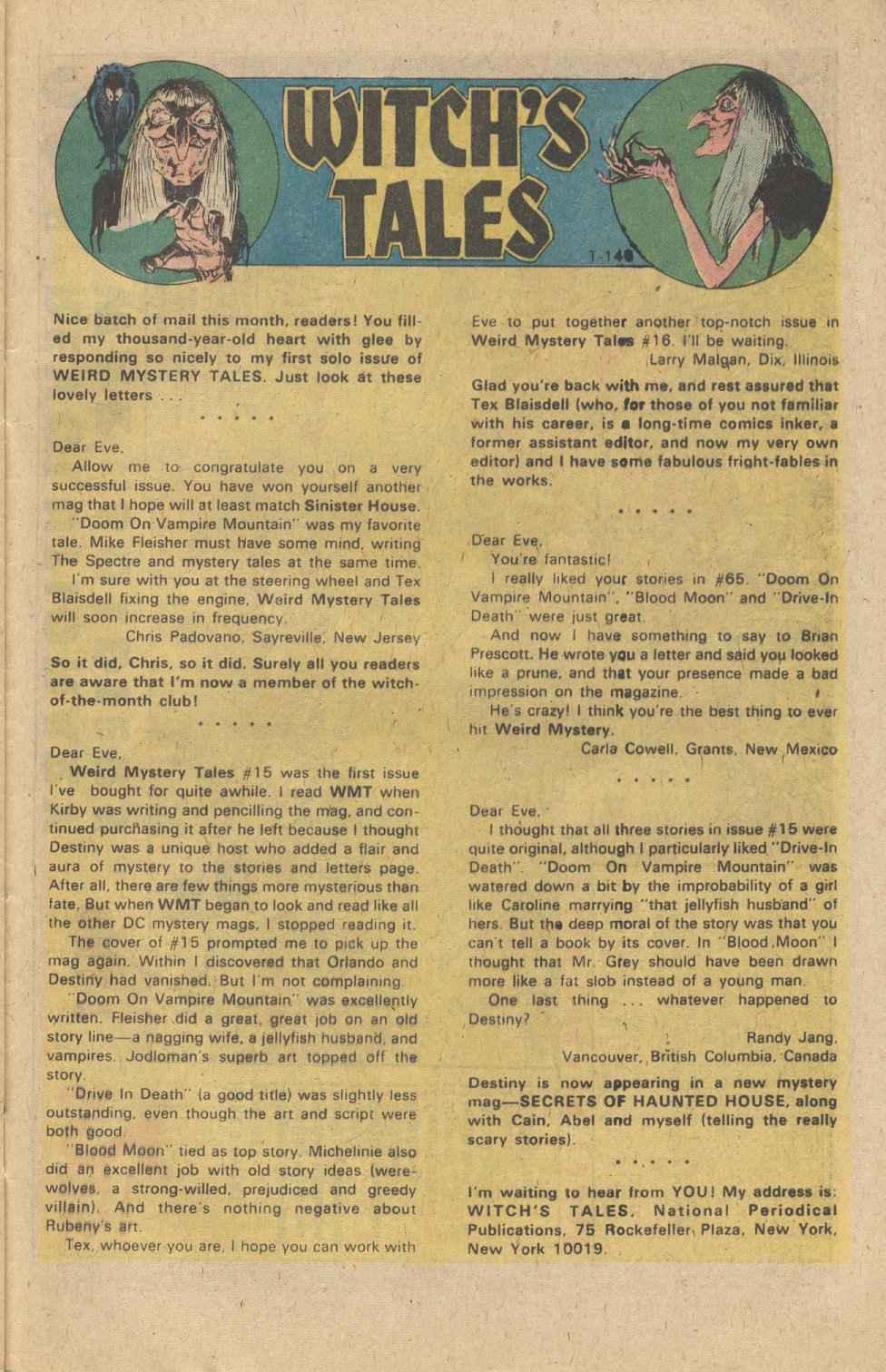 Weird Mystery Tales issue 19 - Page 22