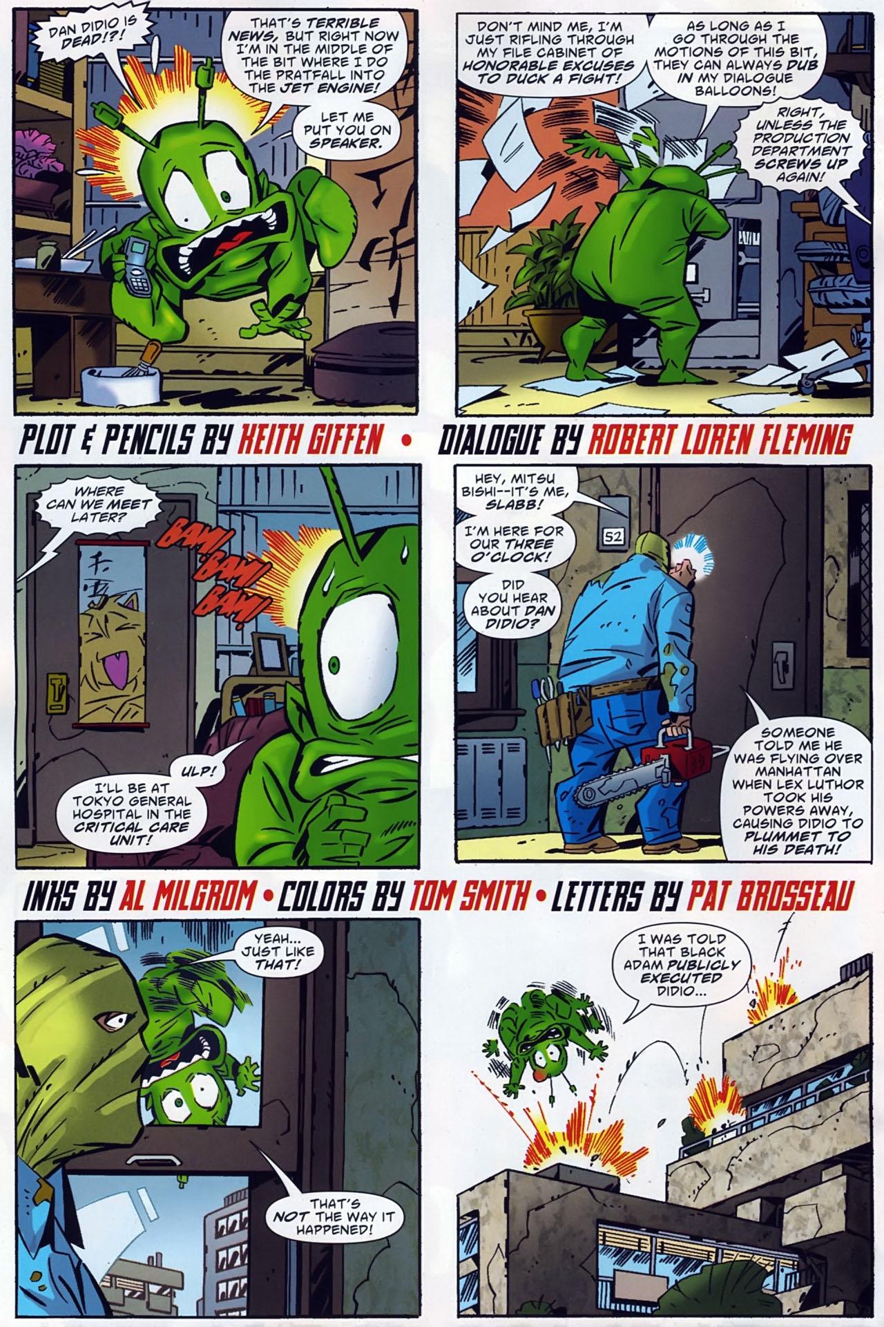 Read online Ambush Bug: Year None comic -  Issue #4 - 6