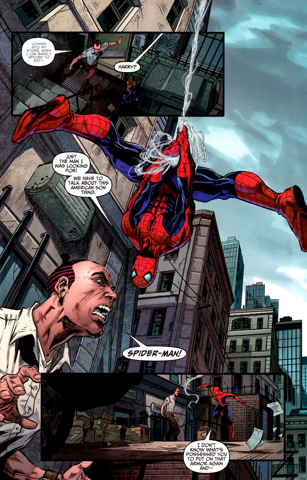 Read online Amazing Spider-Man Presents: American Son comic -  Issue #1 - 21
