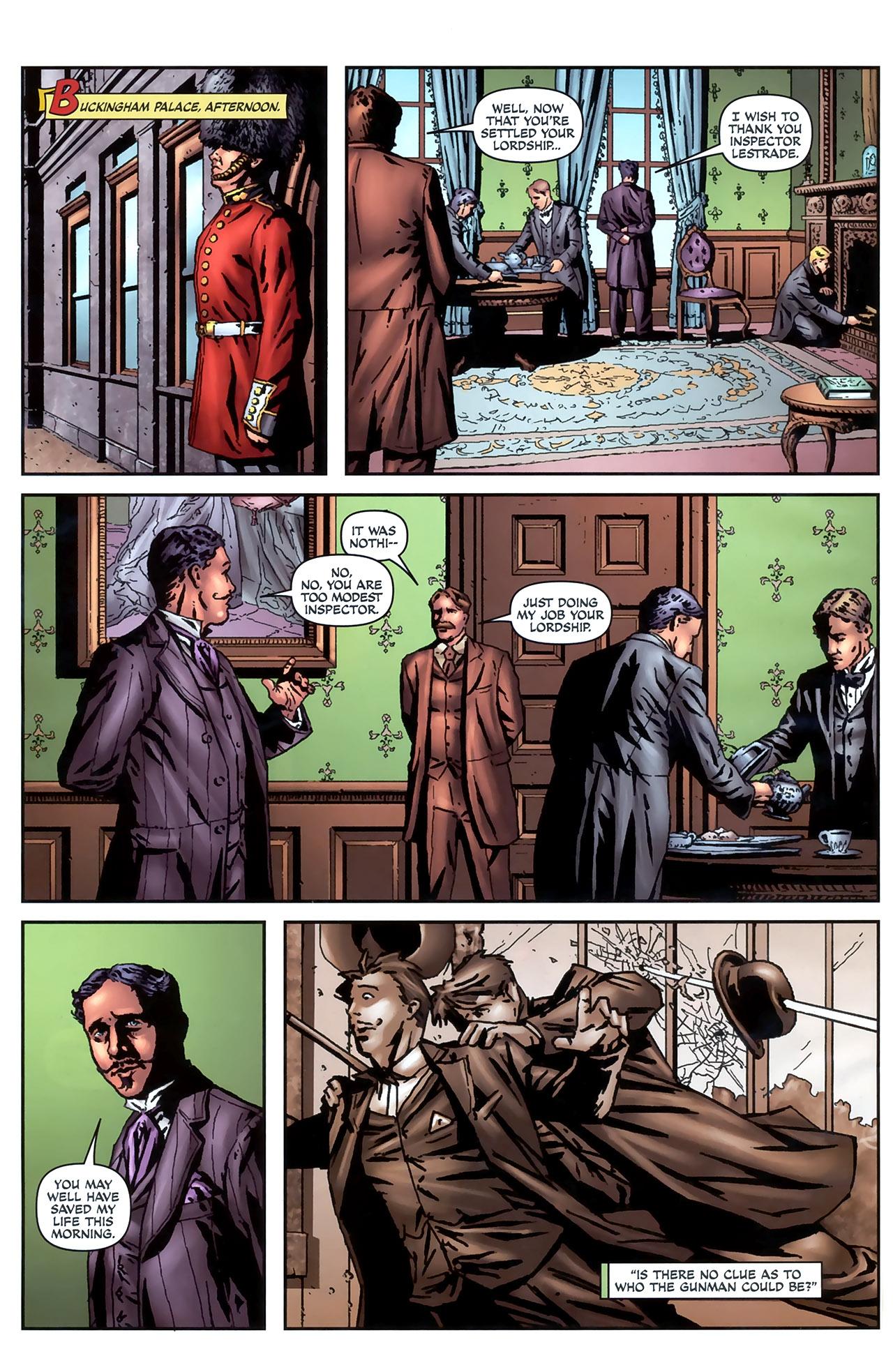 Read online Sherlock Holmes (2009) comic -  Issue #4 - 8