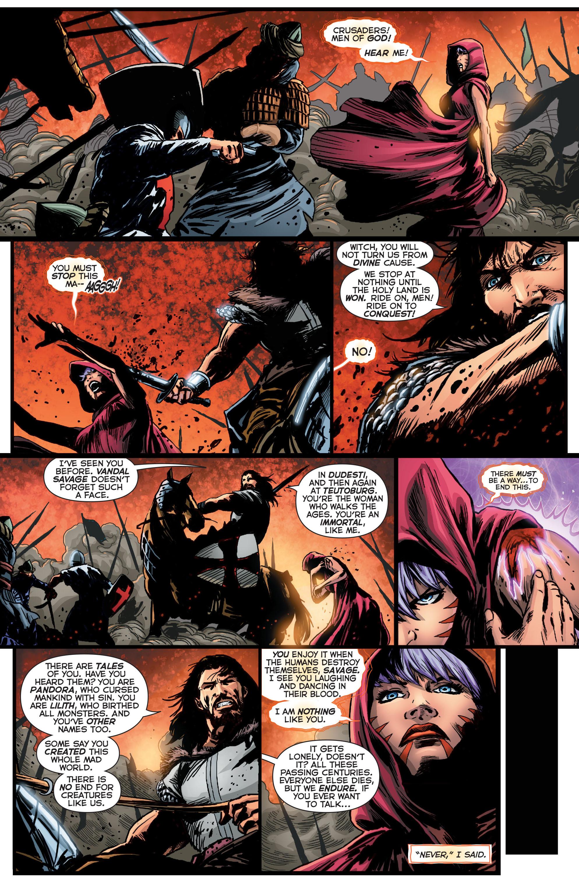 Read online Trinity of Sin: Pandora comic -  Issue #1 - 14