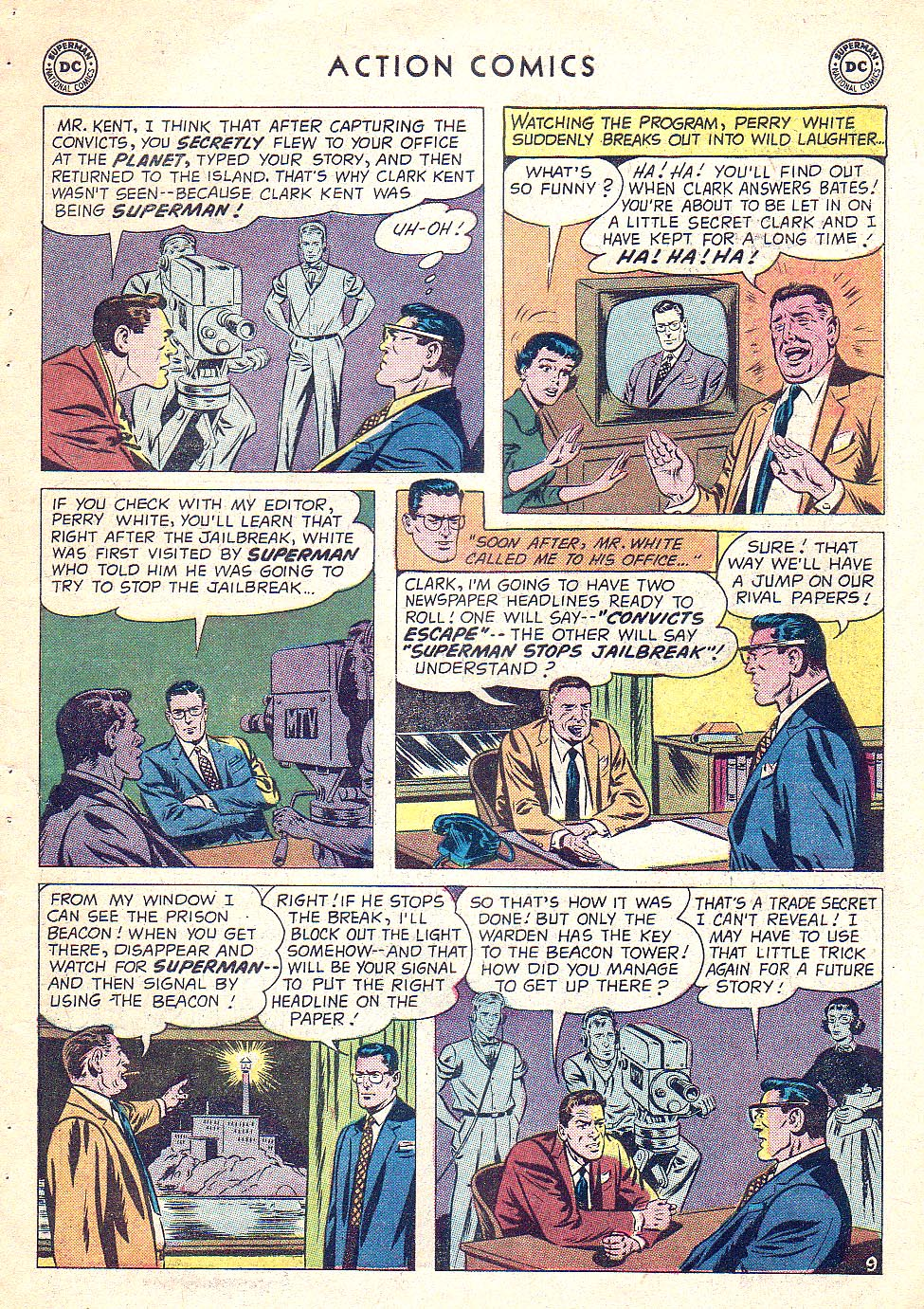 Read online Action Comics (1938) comic -  Issue #250 - 11