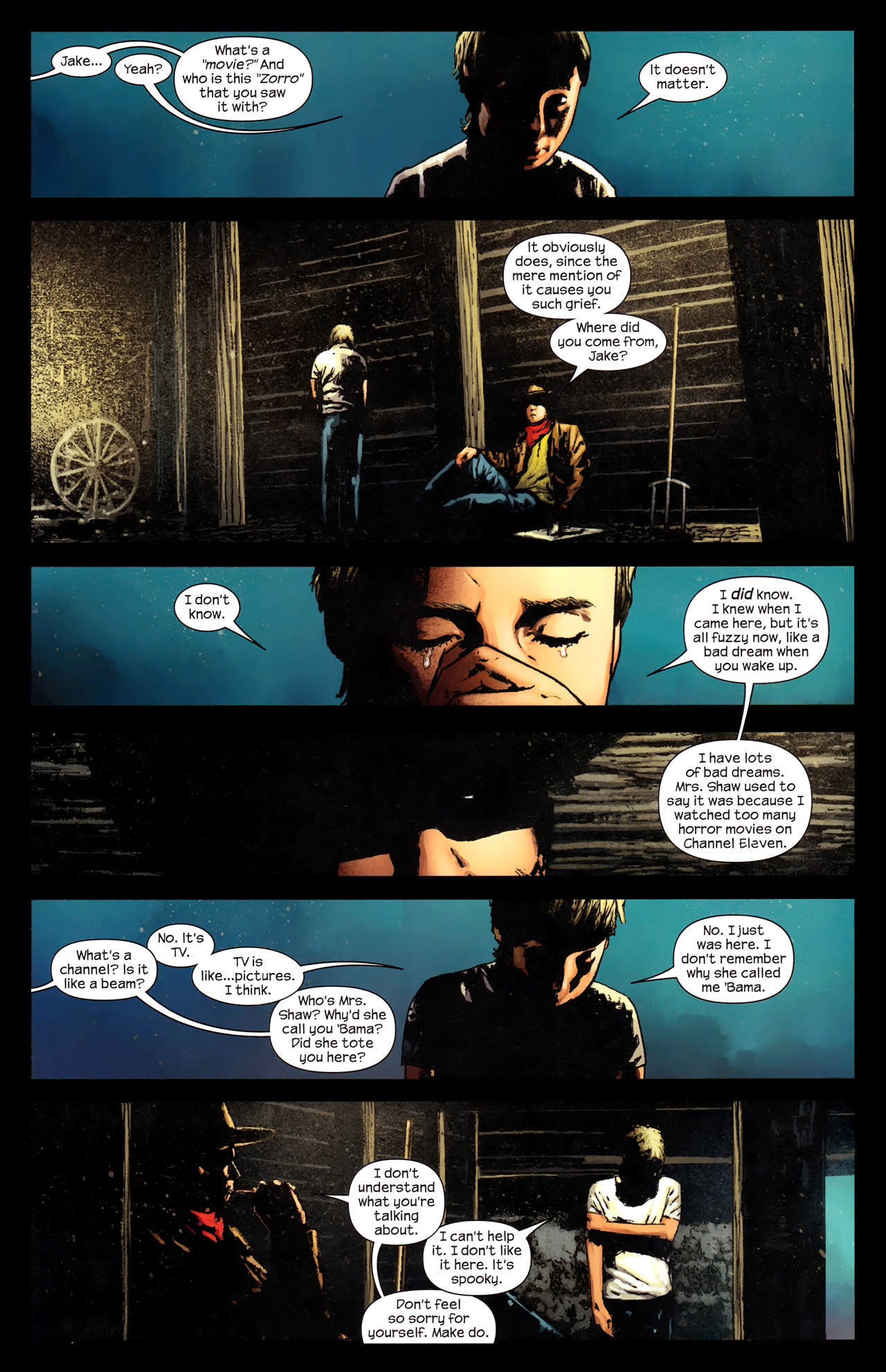 Read online Dark Tower: The Gunslinger - The Way Station comic -  Issue #2 - 9