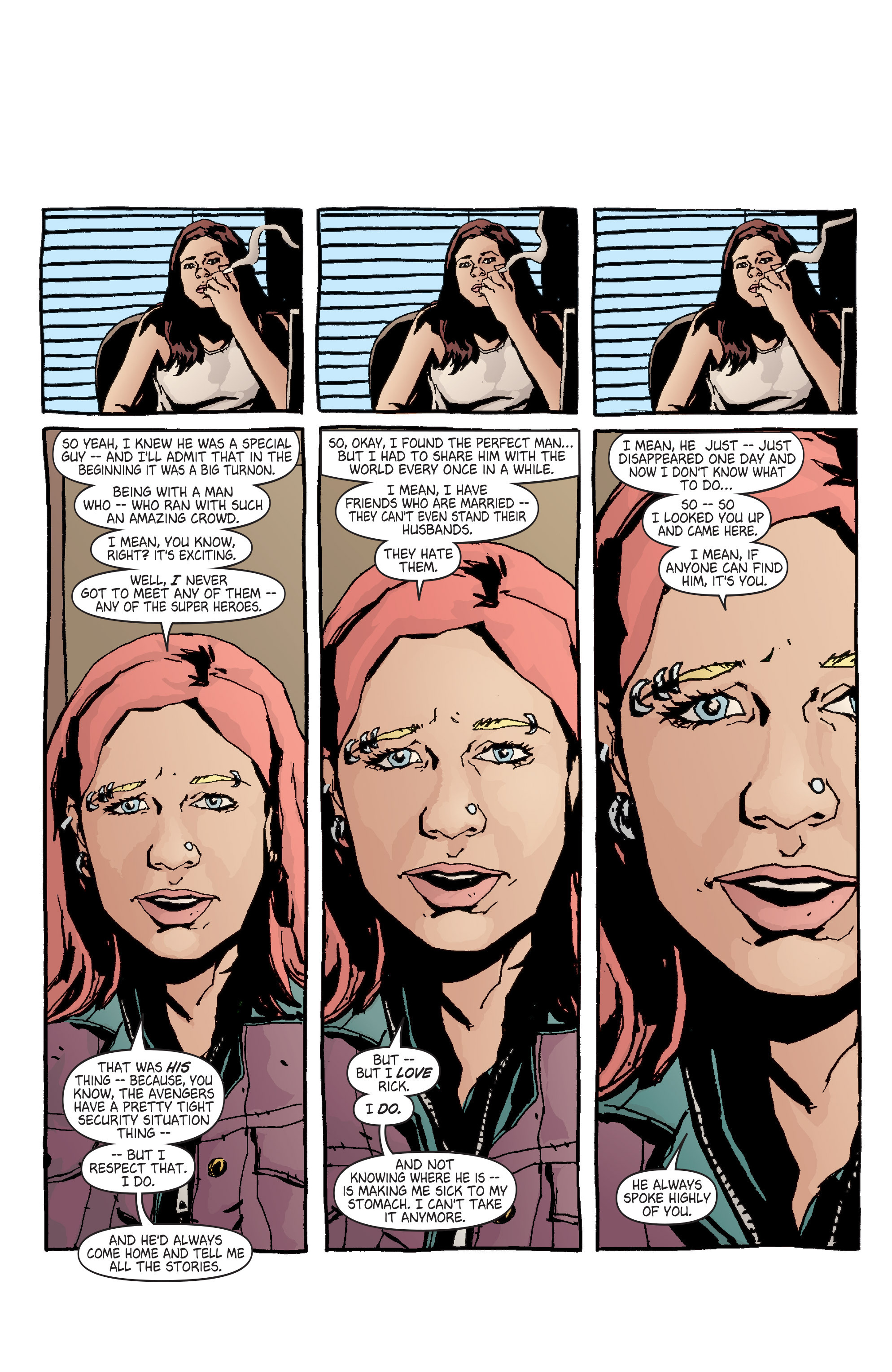 Read online Alias comic -  Issue #7 - 4