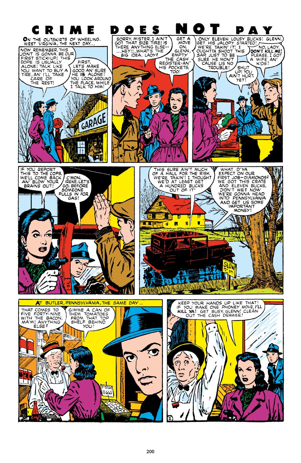 Read online Crime Does Not Pay Archives comic -  Issue # TPB 9 (Part 3) - 2