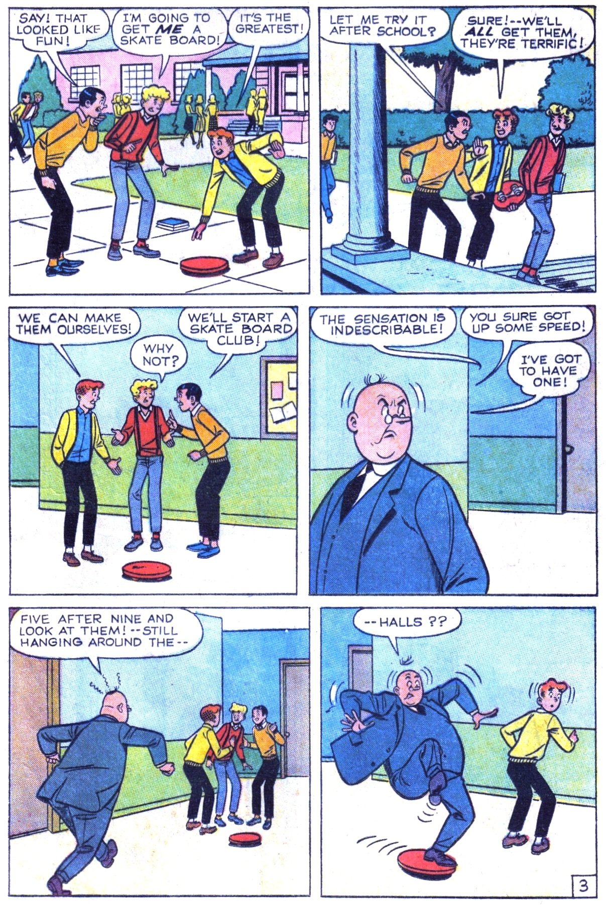 Read online Archie (1960) comic -  Issue #154 - 5