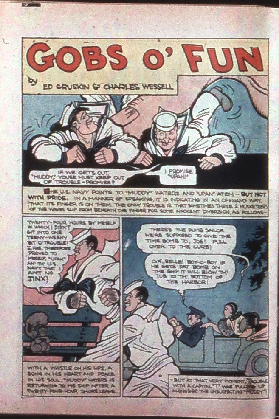 Read online Super-Magician Comics comic -  Issue #7 - 59