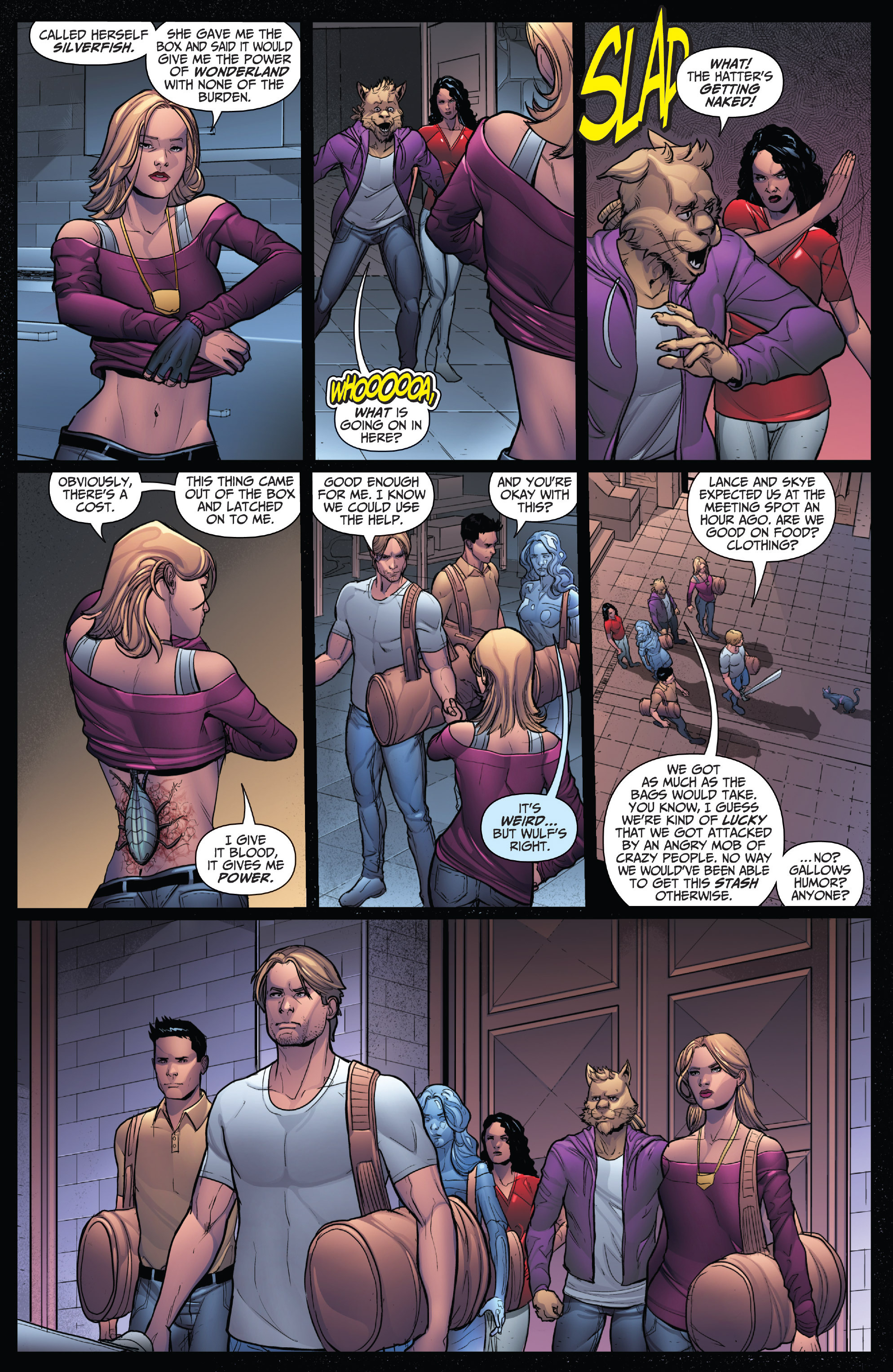 Read online Grimm Fairy Tales: Arcane Acre comic -  Issue # TPB 4 - 102