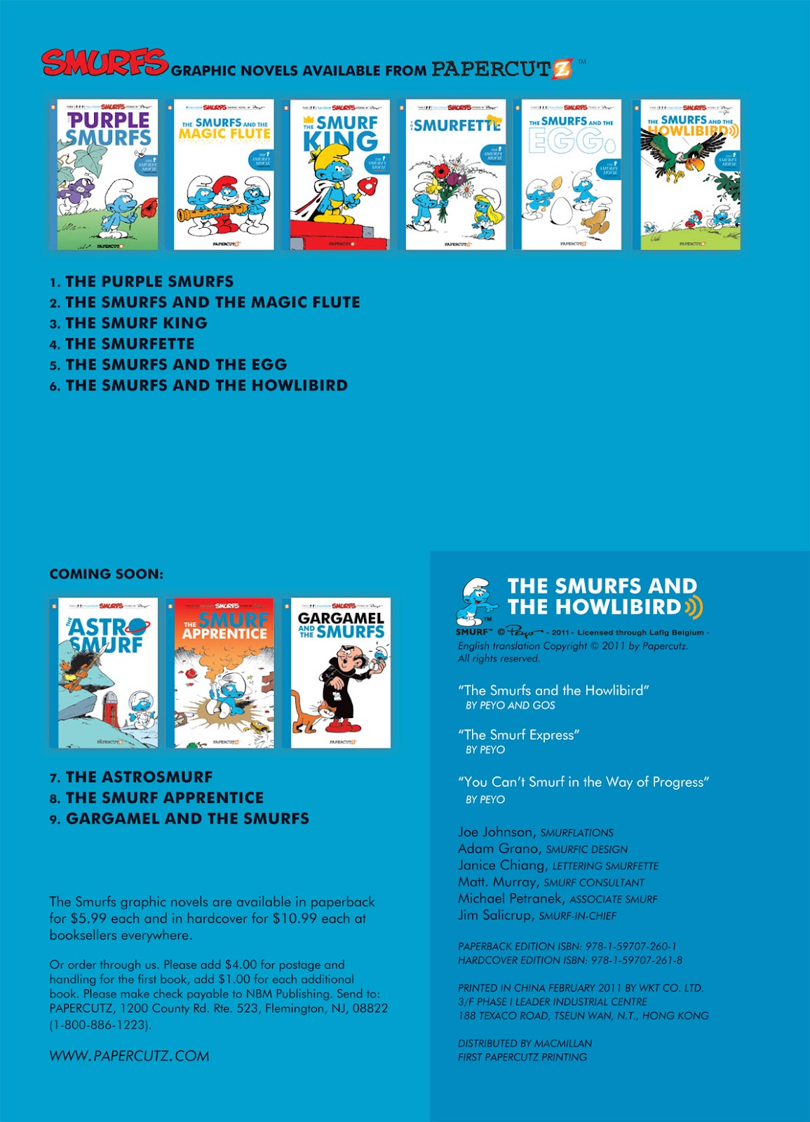 Read online The Smurfs comic -  Issue #6 - 4