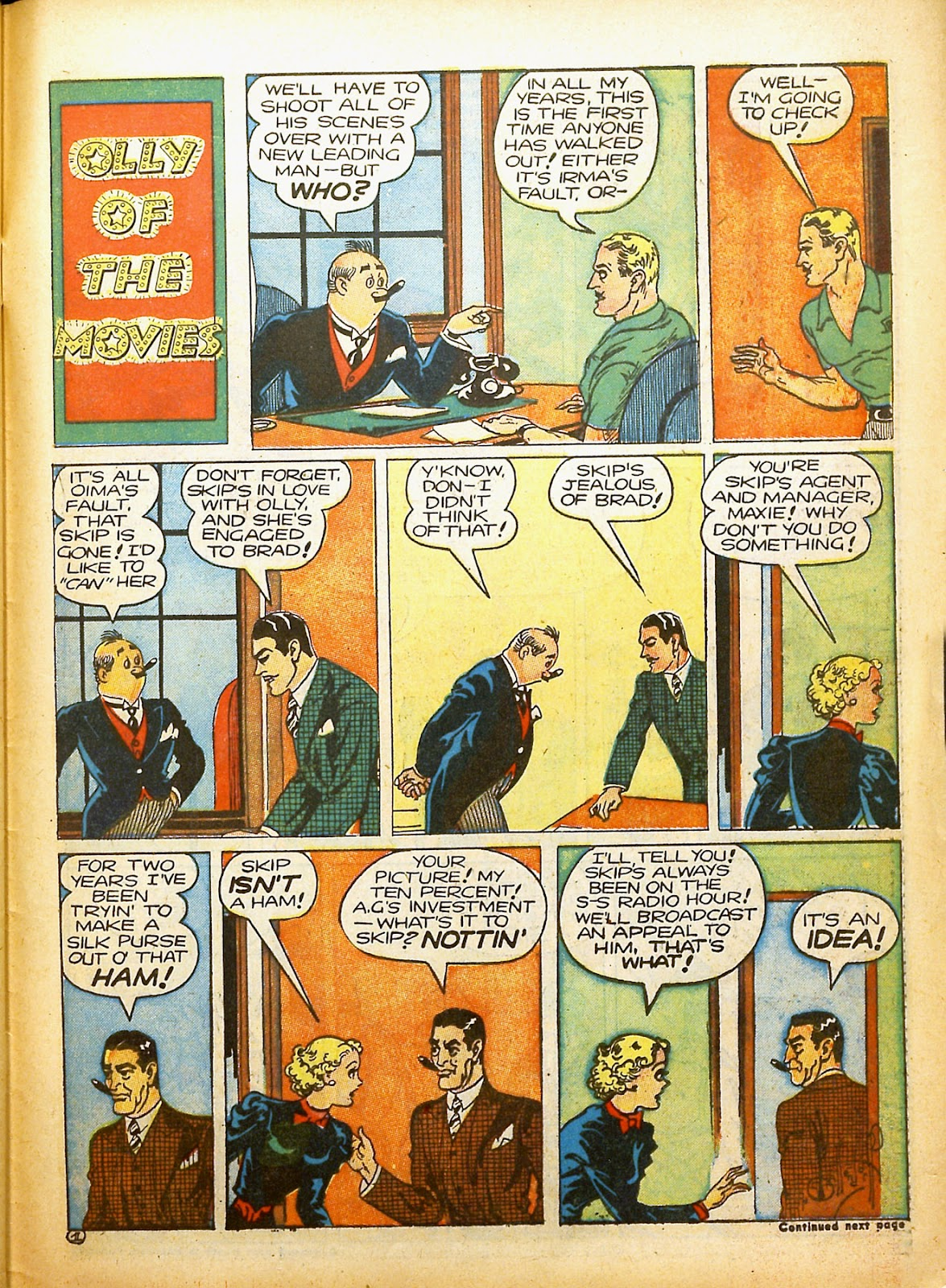 Read online Famous Funnies comic -  Issue #91 - 56