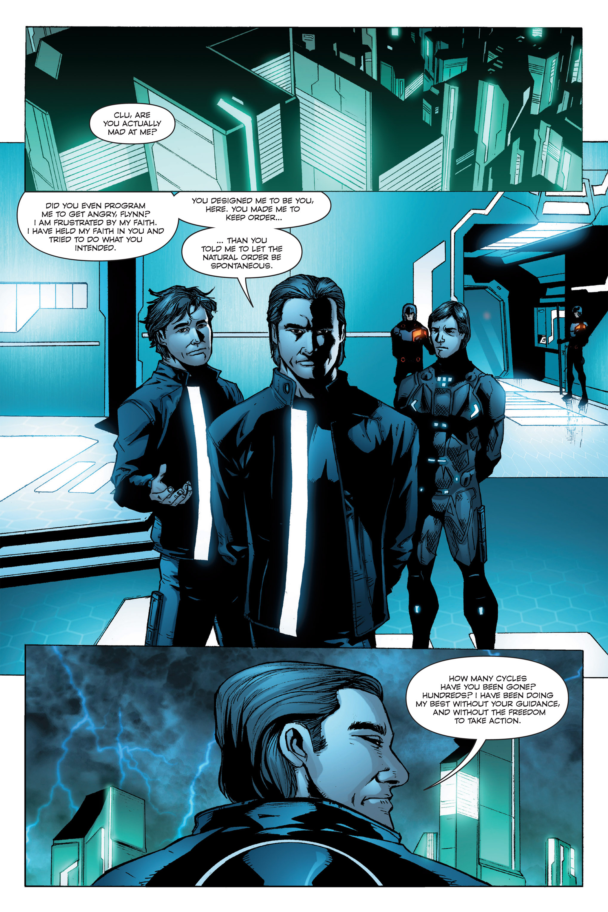 Read online TRON: Betrayal comic -  Issue # TPB - 54