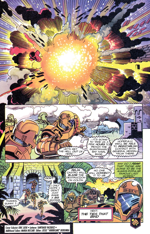 Read online Armorines comic -  Issue #11 - 21