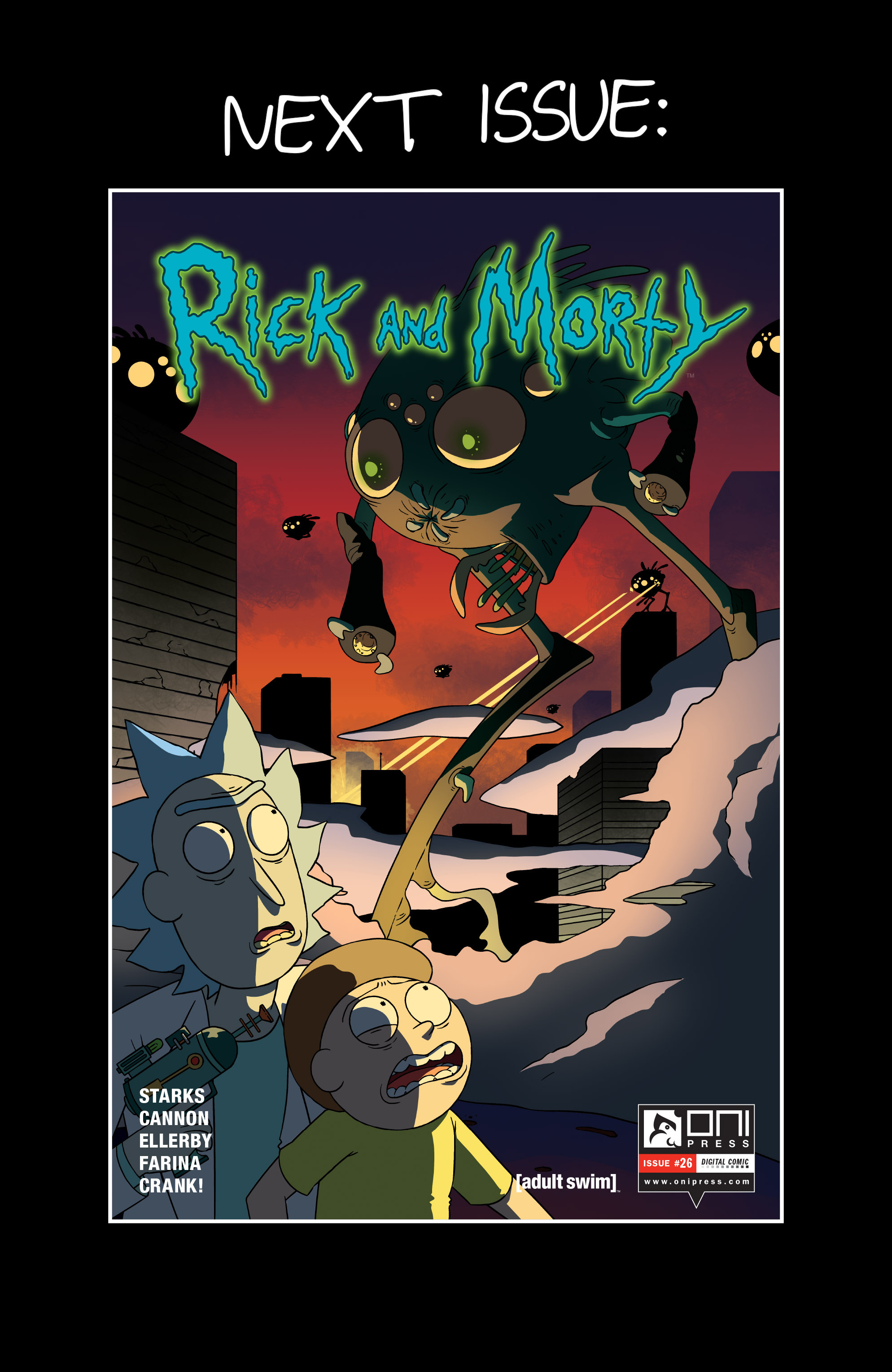 Read online Rick and Morty comic -  Issue #25 - 25