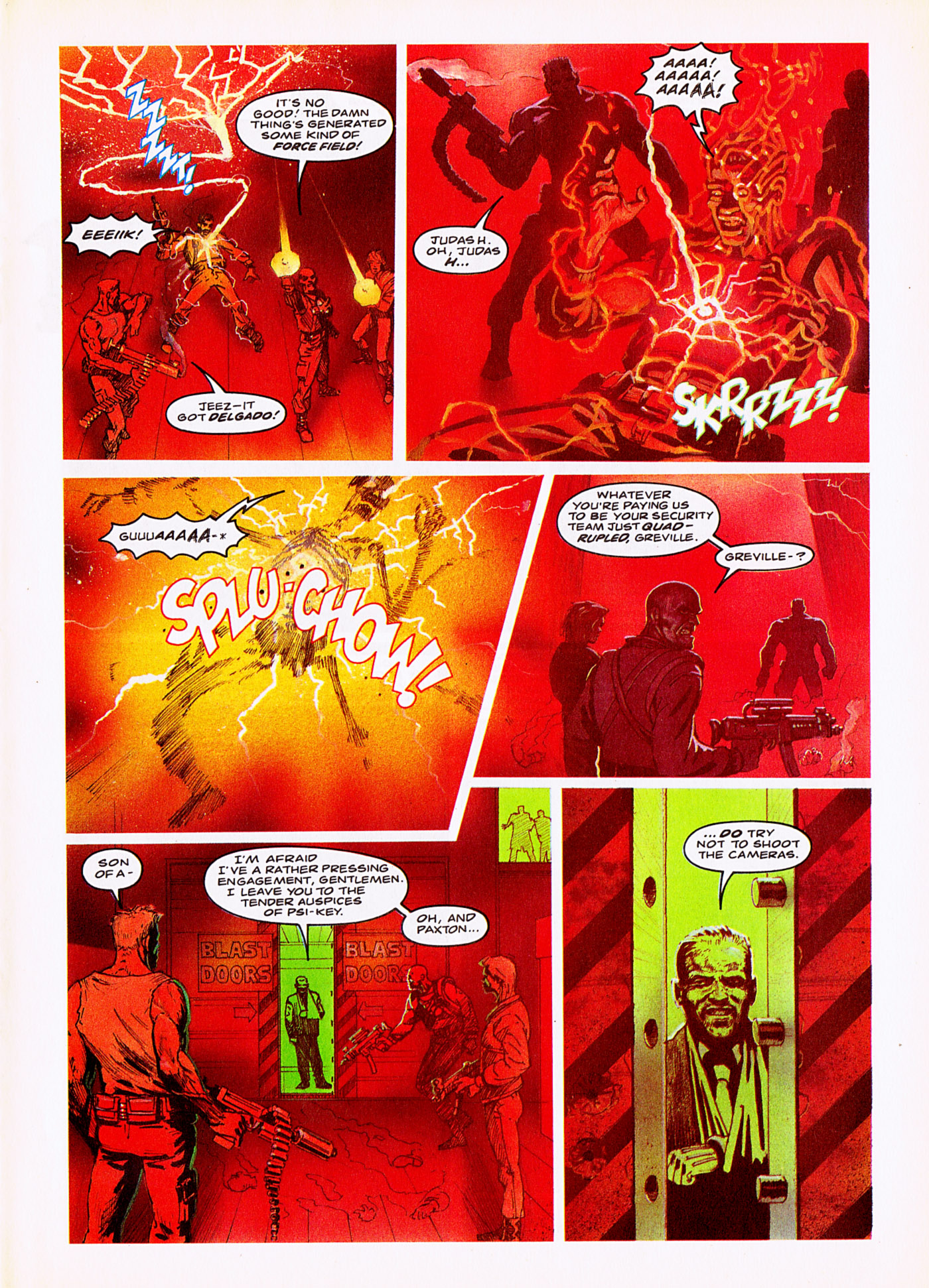 Read online Overkill comic -  Issue #5 - 11