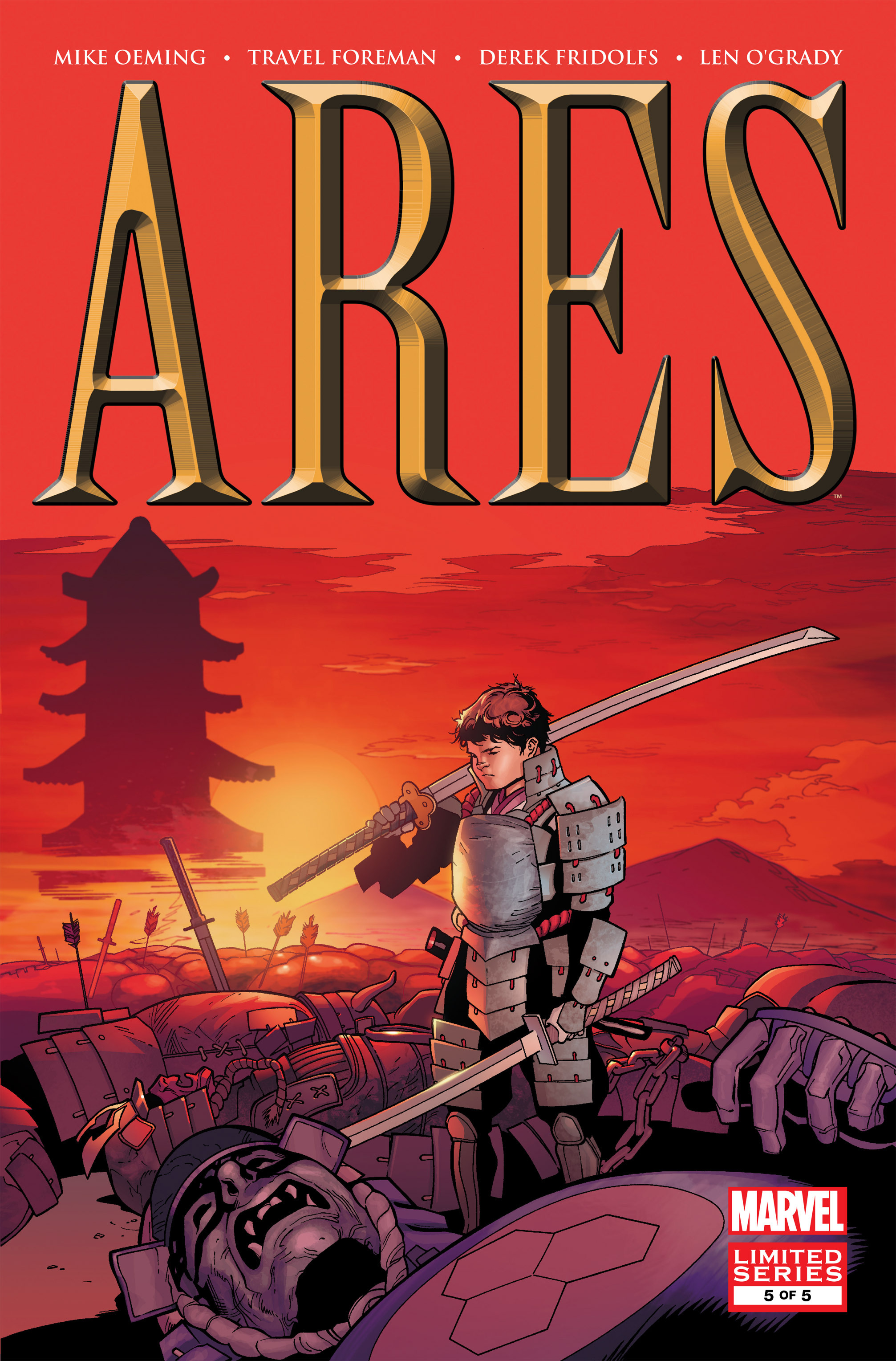 Read online Ares comic -  Issue #5 - 1
