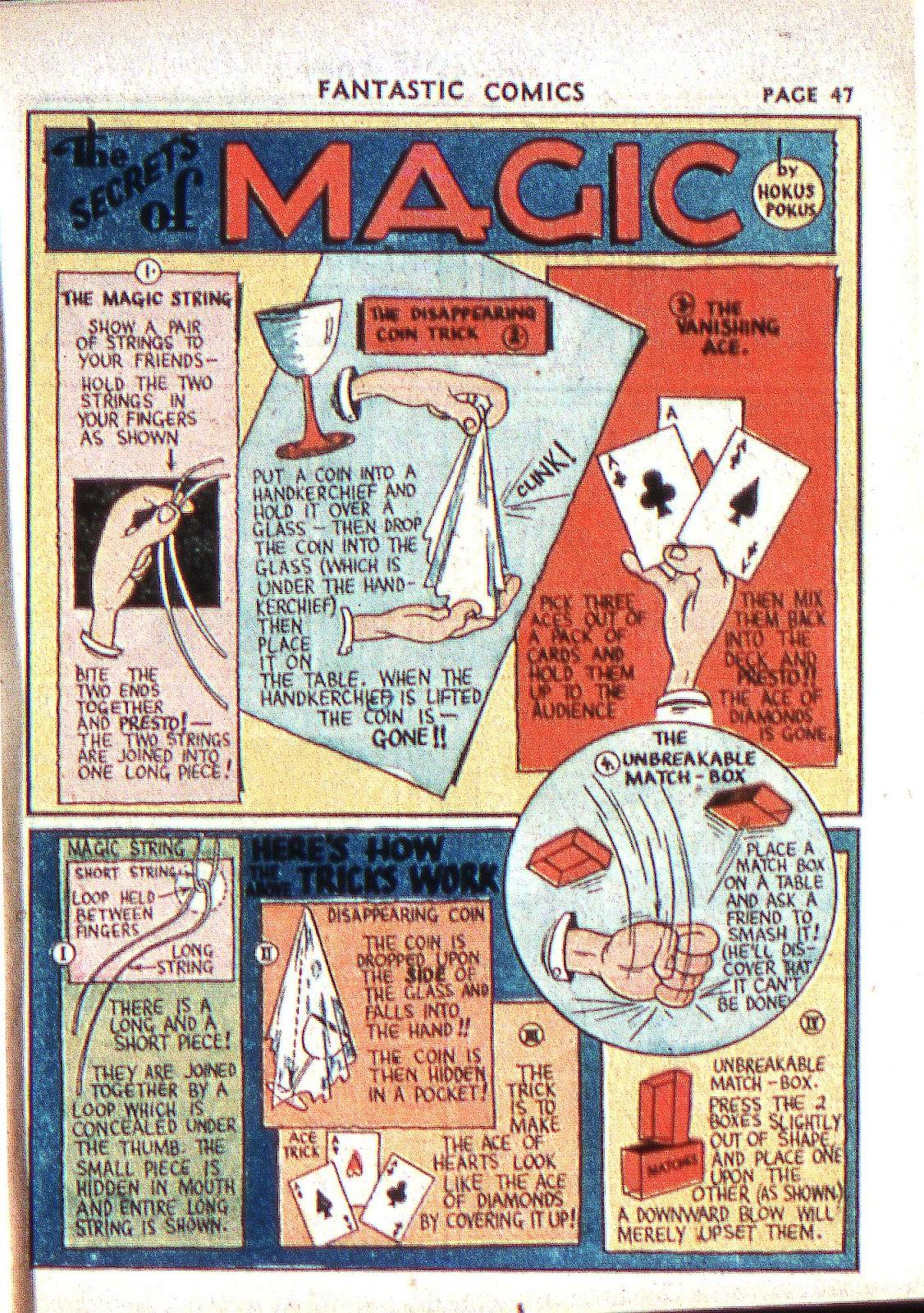 Read online Fantastic Comics comic -  Issue #2 - 48