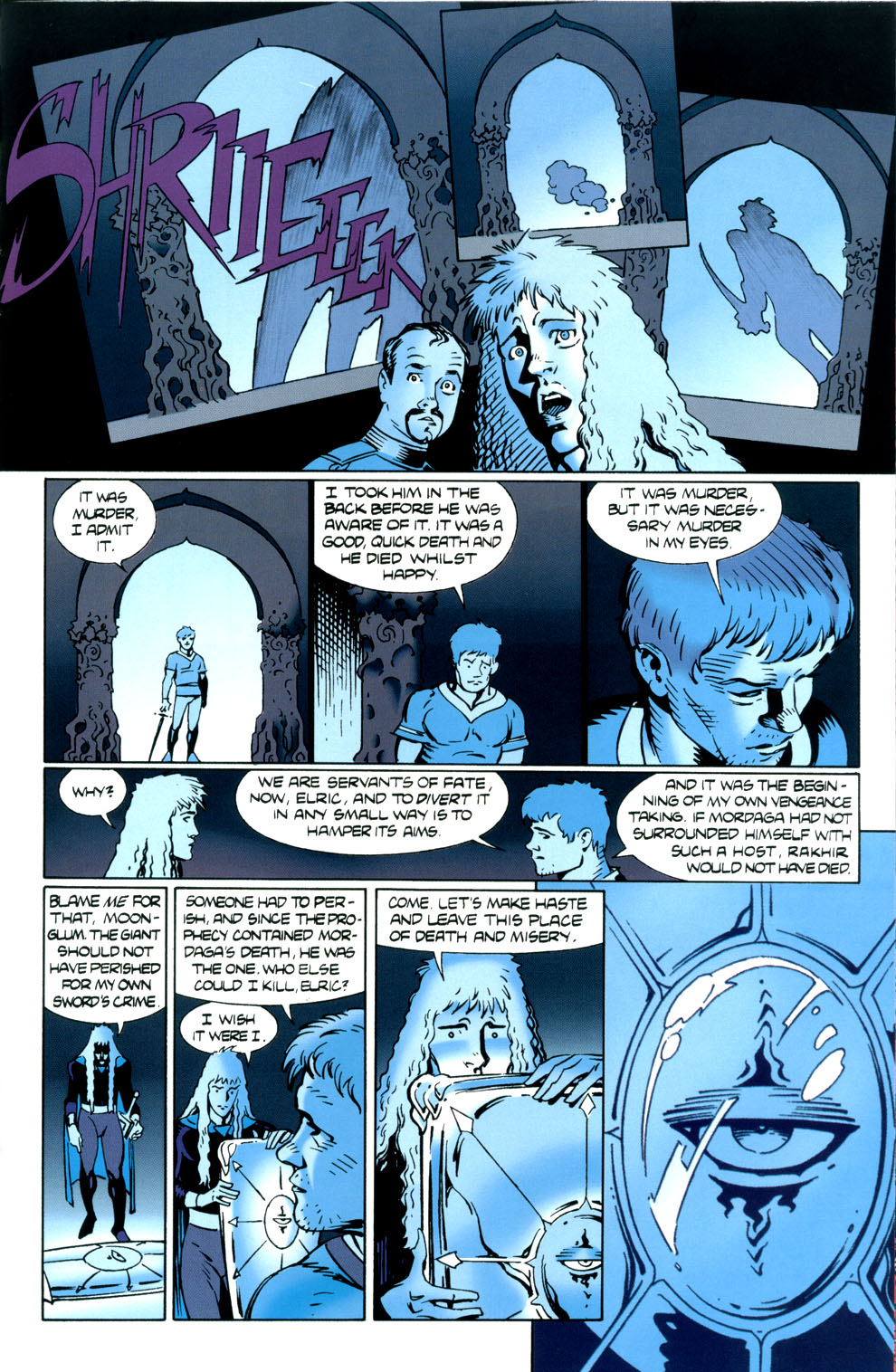 Read online Elric: Stormbringer comic -  Issue #5 - 19