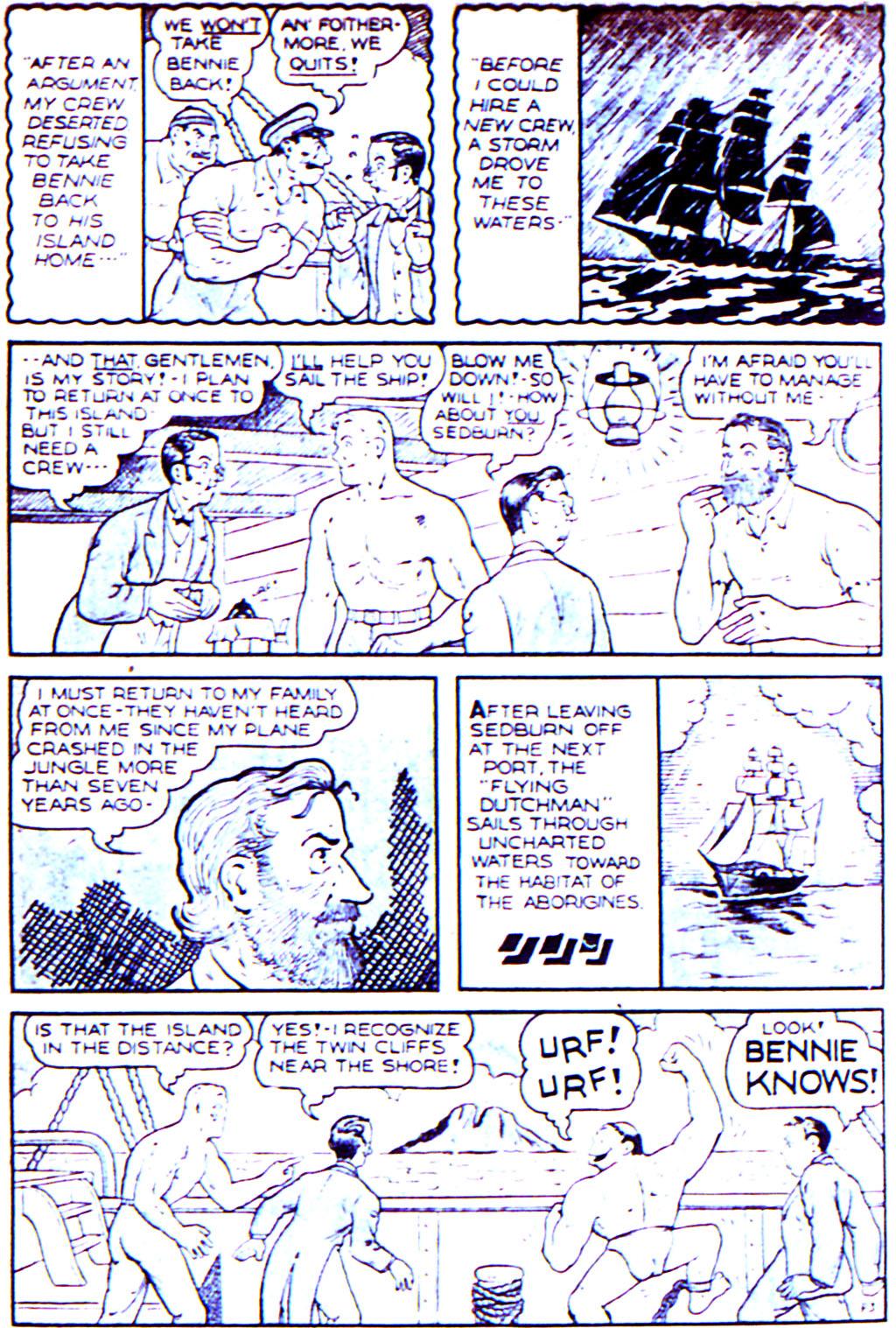 Read online Adventure Comics (1938) comic -  Issue #42 - 30
