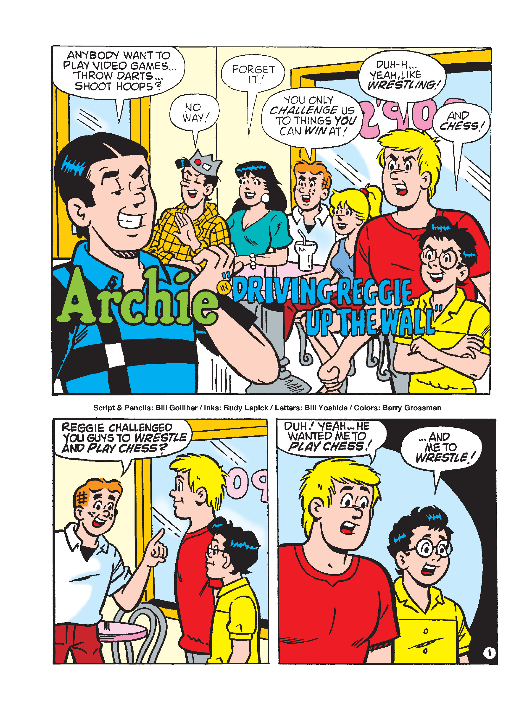 Read online Archie's Funhouse Double Digest comic -  Issue #15 - 108